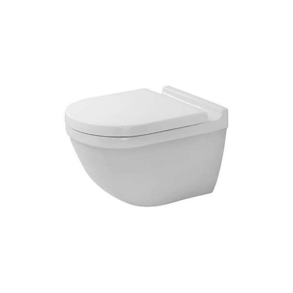 Hervorragend Shop Duravit Starck 3 Toilet Wall Mounted 54  Cm,Washdown,Durafix,Riml.,Us,Hyg White 2527090092   Free Shipping Today    Overstock   20718728