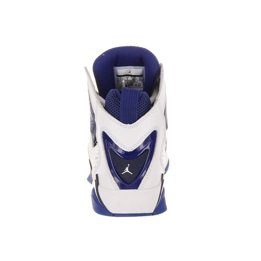84fa80347647 Shop Nike Jordan Kids Jordan True Flight BG Basketball Shoe - Free Shipping  Today - Overstock - 20724116