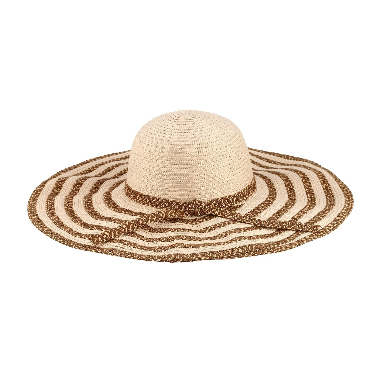 Shop Selma - 20% Nylon 80% Cotton Woven Fabric Extra Large Wide Brim Sun  Hat Sun Styles - AH-017-1-BE - Free Shipping On Orders Over  45 -  Overstock.com - ... 499c3783260