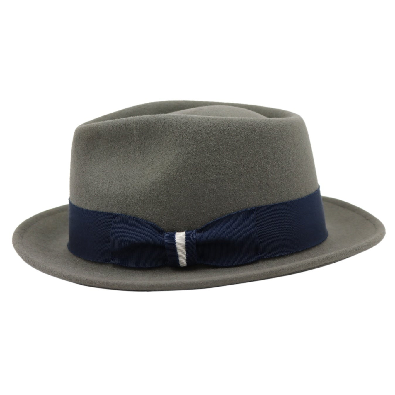 Shop Russell - 100% Wool Felt Stingy Brim Trilby Fedora Style Felt Hat -  Free Shipping On Orders Over  45 - Overstock - 20743872 cb06ed4d62d