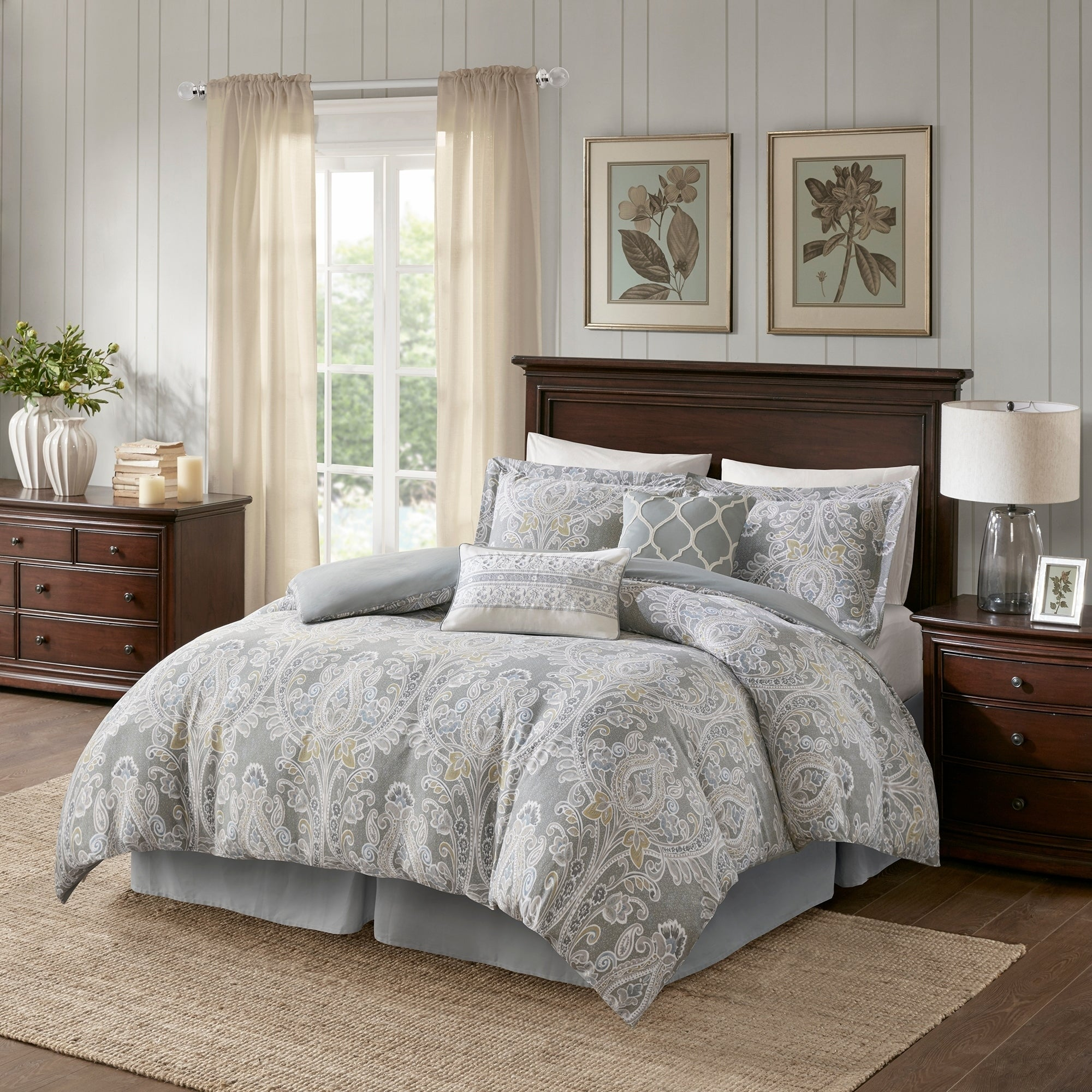 Exceptional Shop Harbor House Hallie 6 Piece Cotton Comforter Set   Free Shipping Today    Overstock.com   20745515