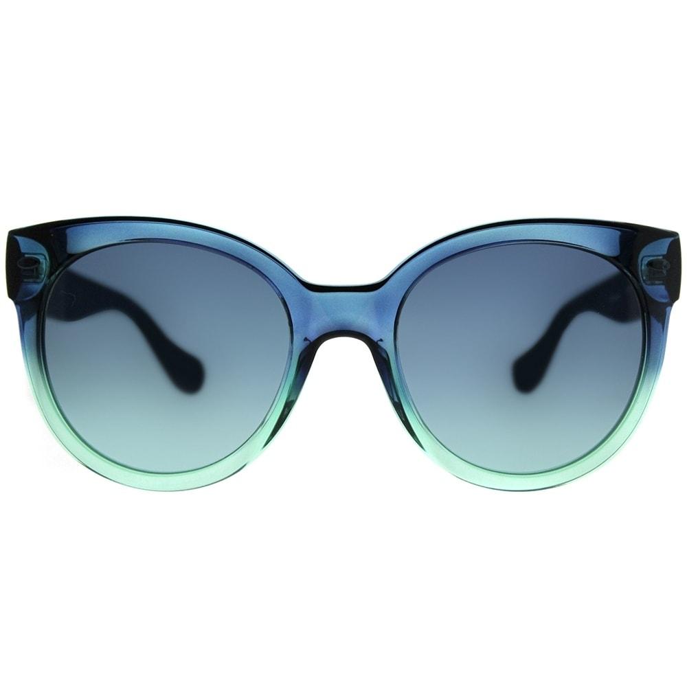 86a8e02fe Shop Havaianas Round Noronha M 3UK JF Unisex Dark Green Blue Frame Blue Aqua  Lens Sunglasses - Free Shipping Today - Overstock - 20747668