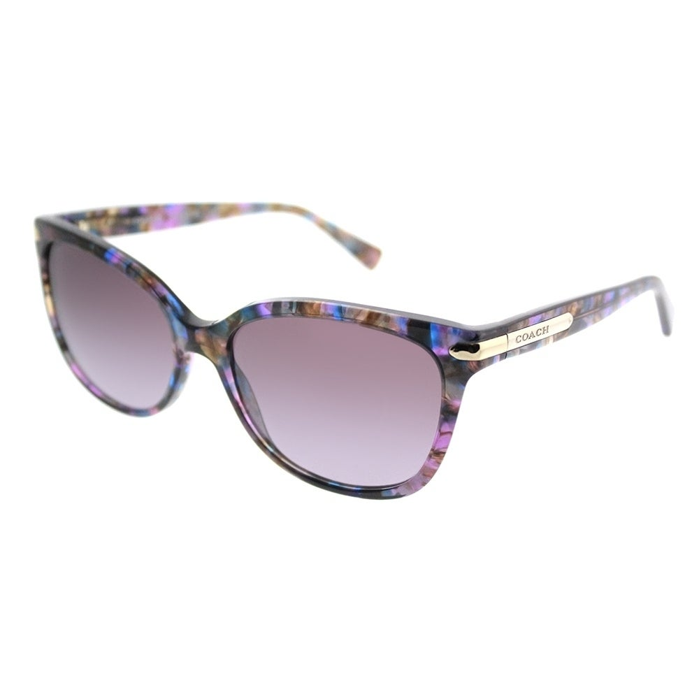 23abb89587 ... shopping shop coach cat eye hc 8132 l19 52888h women confetti purple  frame purple gradient lens