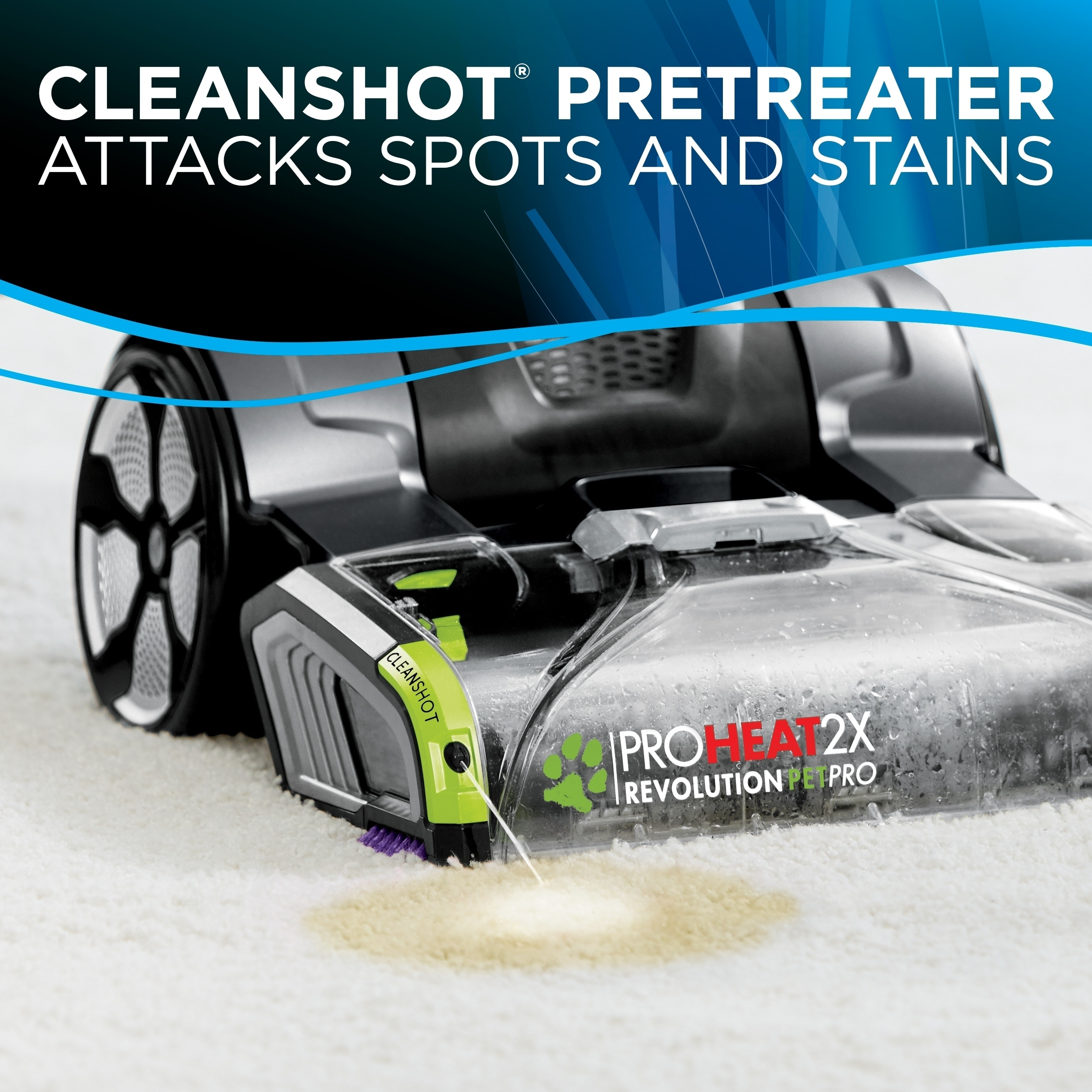 Shop Bissell Proheat 2x Revolution Pet Pro Carpet Cleaner Free