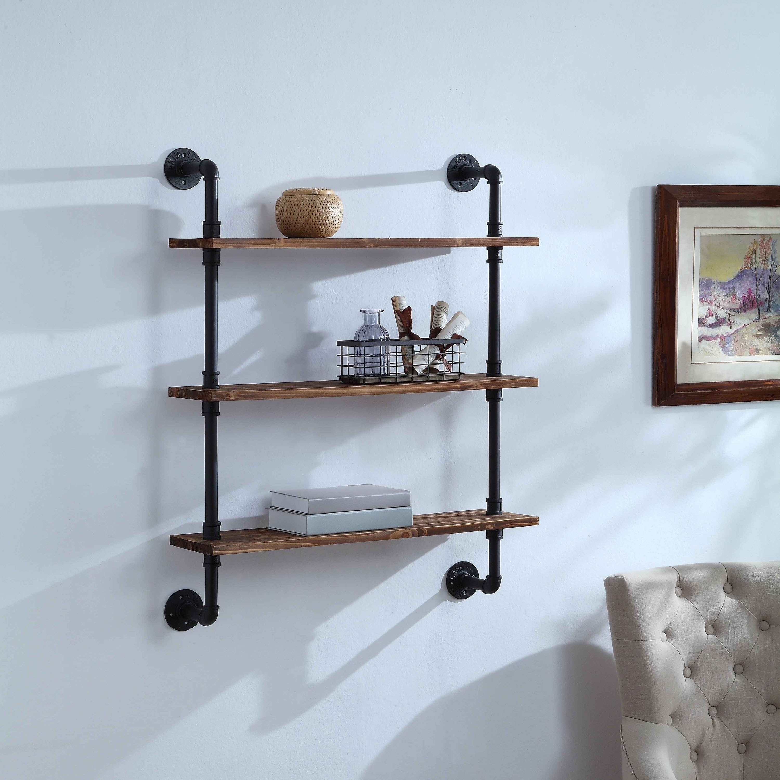 Shop Anacortes Three Shelf Piping - Free Shipping Today - Overstock ...