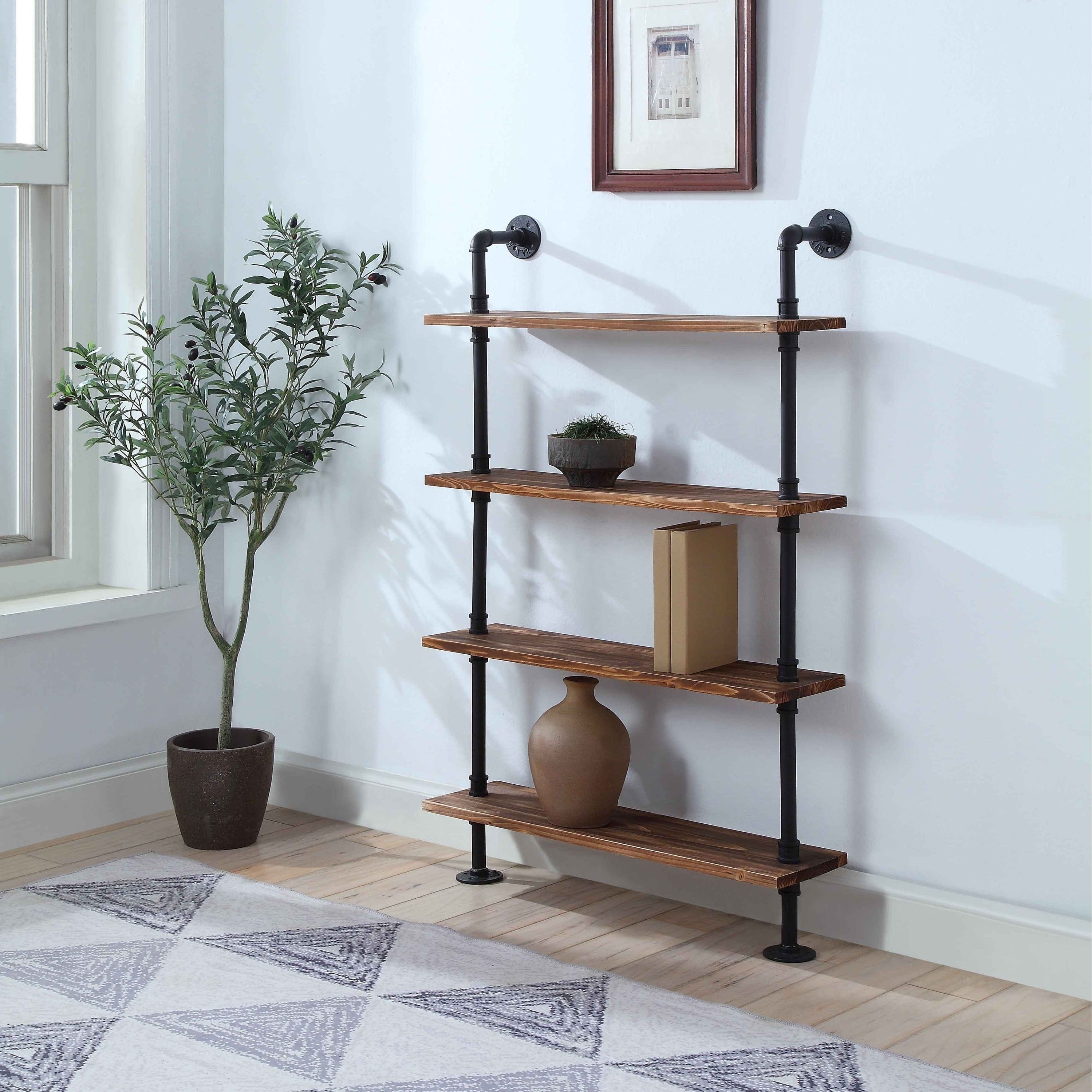 Shop Anacortes Four Shelf Piping - Free Shipping Today - Overstock ...
