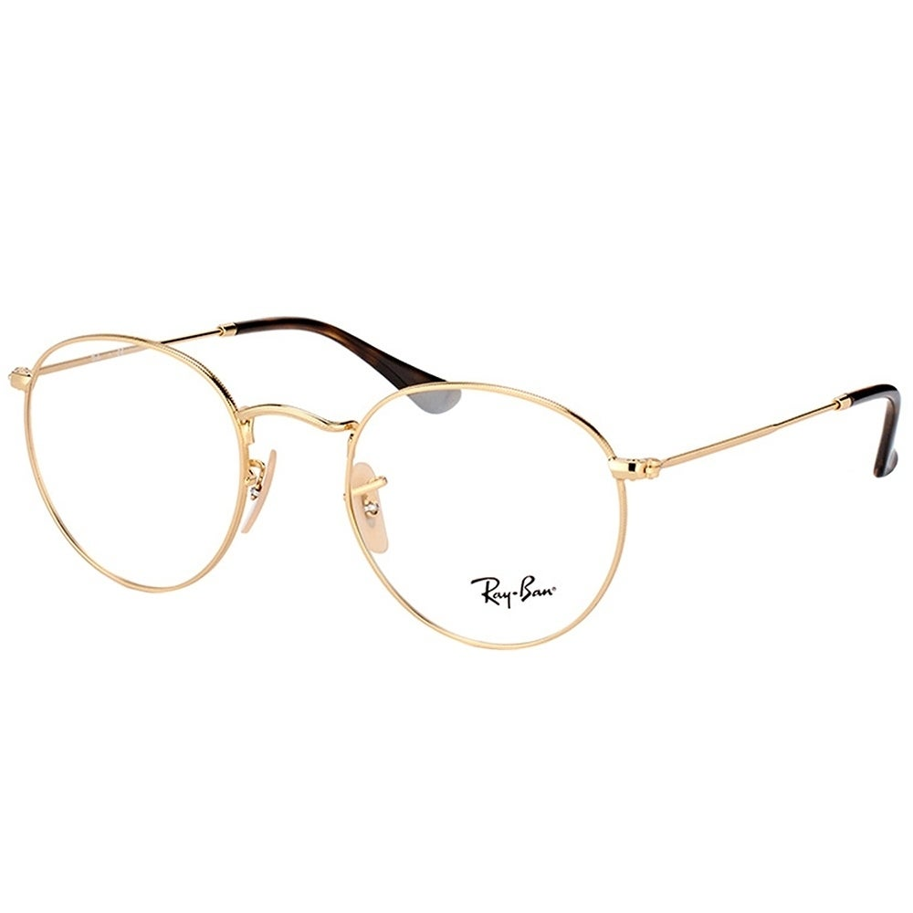 b96e110e6 ... ireland ray ban round rx 3447v round metal 2500 unisex gold frame  eyeglasses 126f6 9a46c