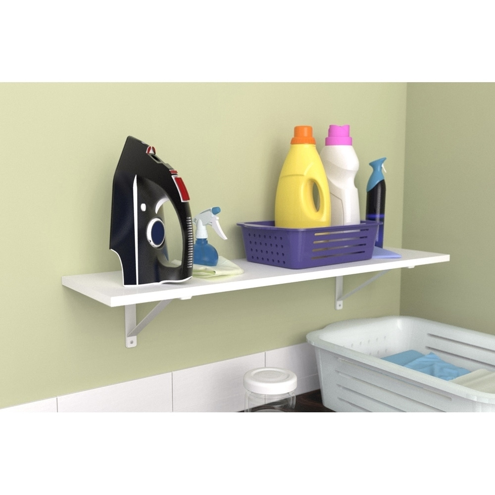 Exceptionnel Shop ClosetMaid Wood Shelf Kit   Free Shipping On Orders Over $45    Overstock.com   20756670
