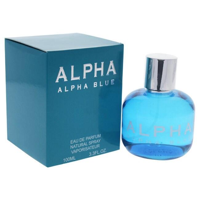 fa8561328 Shop Alpha Blue Women s 3.3-ounce Eau de Parfum Spray - Free Shipping On Orders  Over  45 - Overstock - 20761406