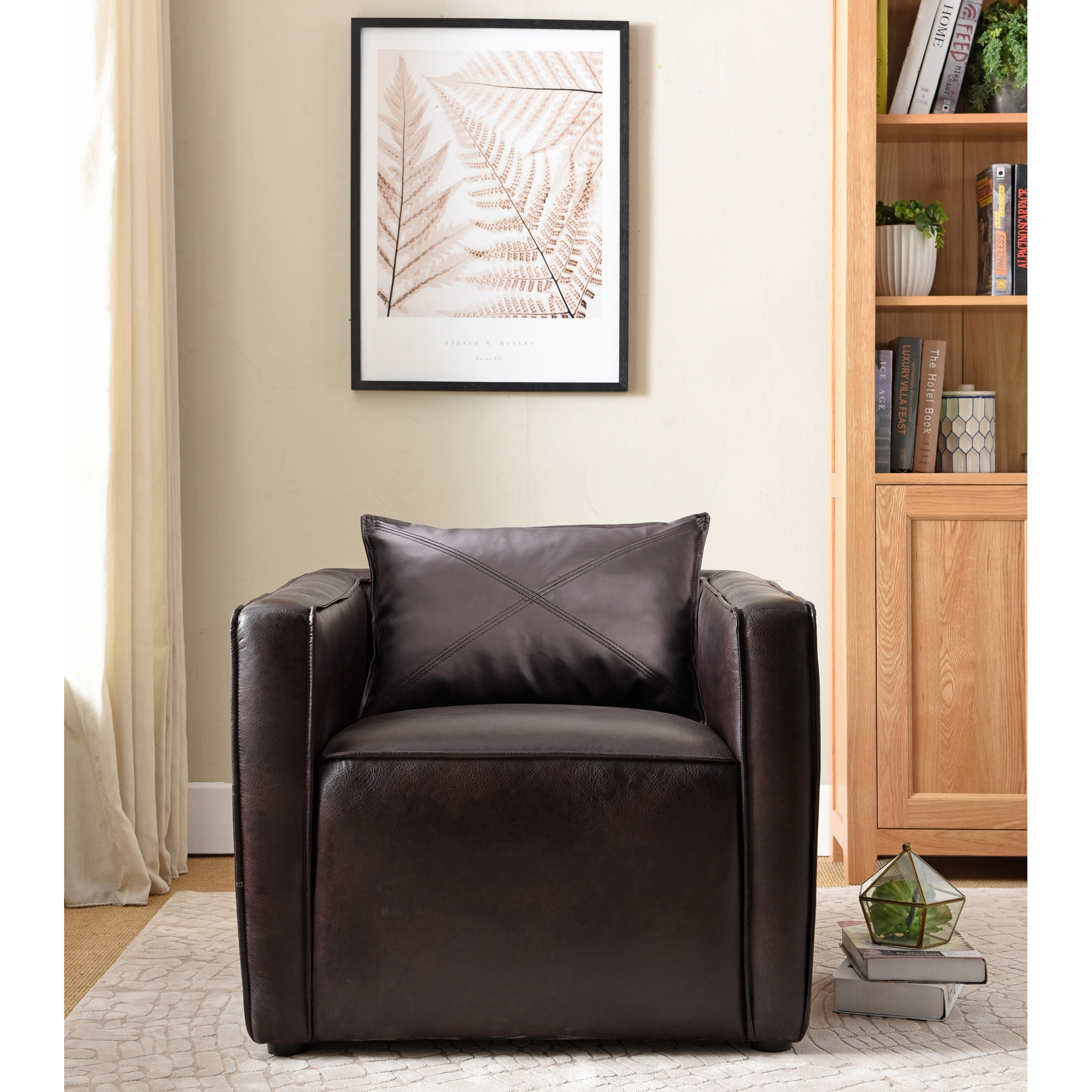 Preston Contemporary Accent Chair By Foa On Free Shipping Today 20763128
