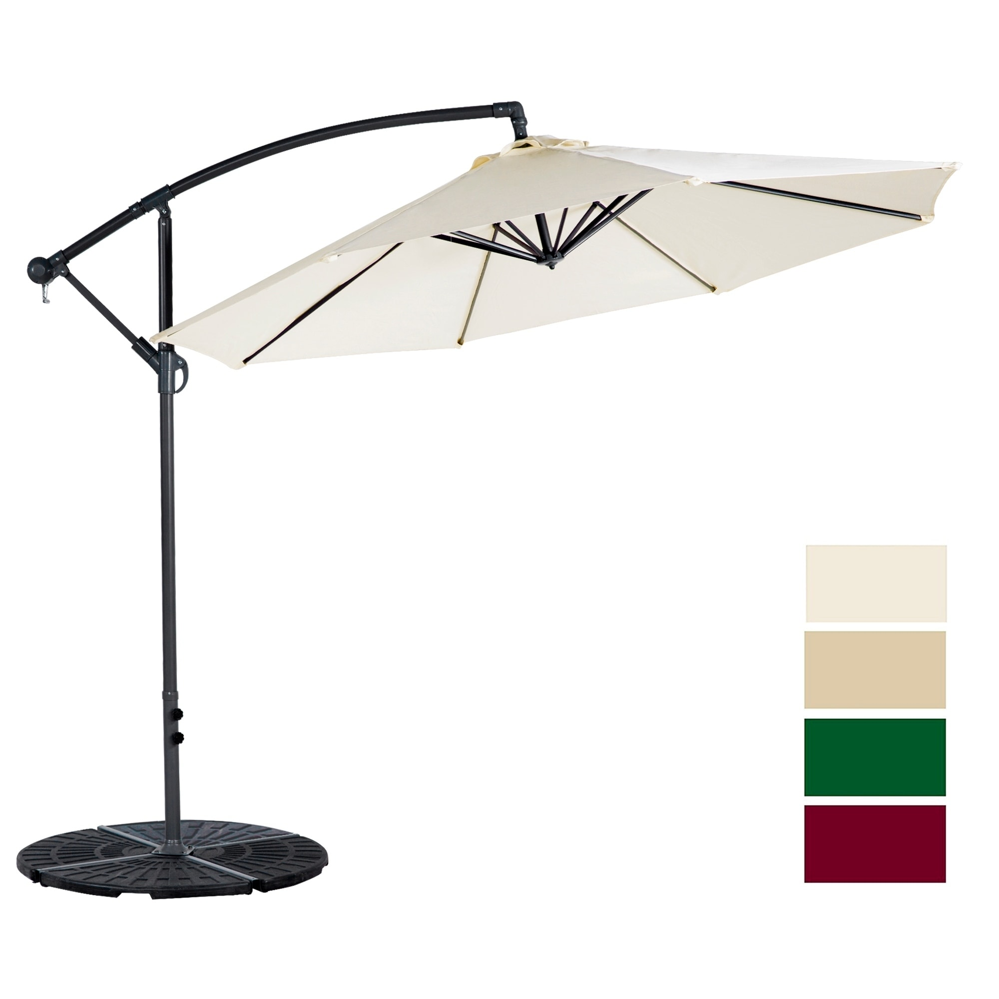 stylish cantilever convenient carehomedecor patio and umbrella