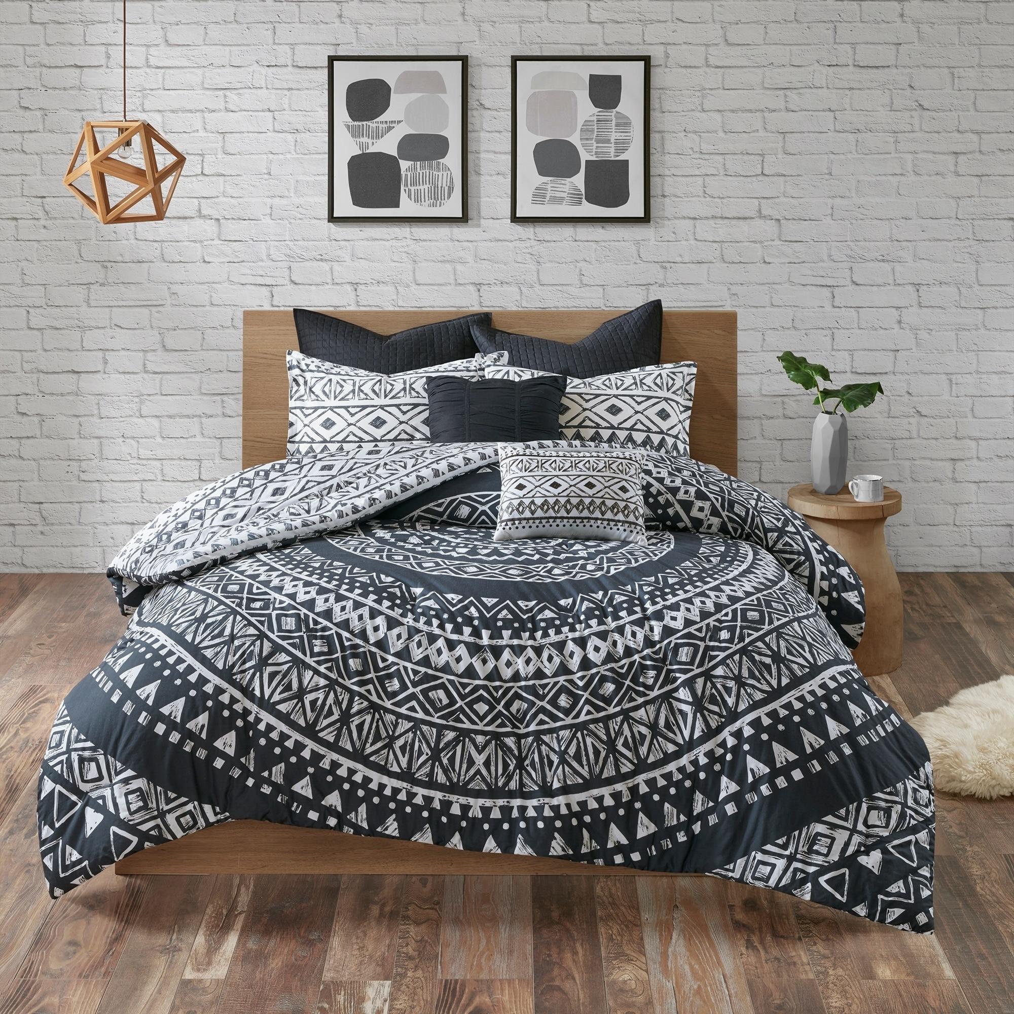 home duvet flannelette dp bedmaker cotton cover double multi uk nordic kitchen co amazon