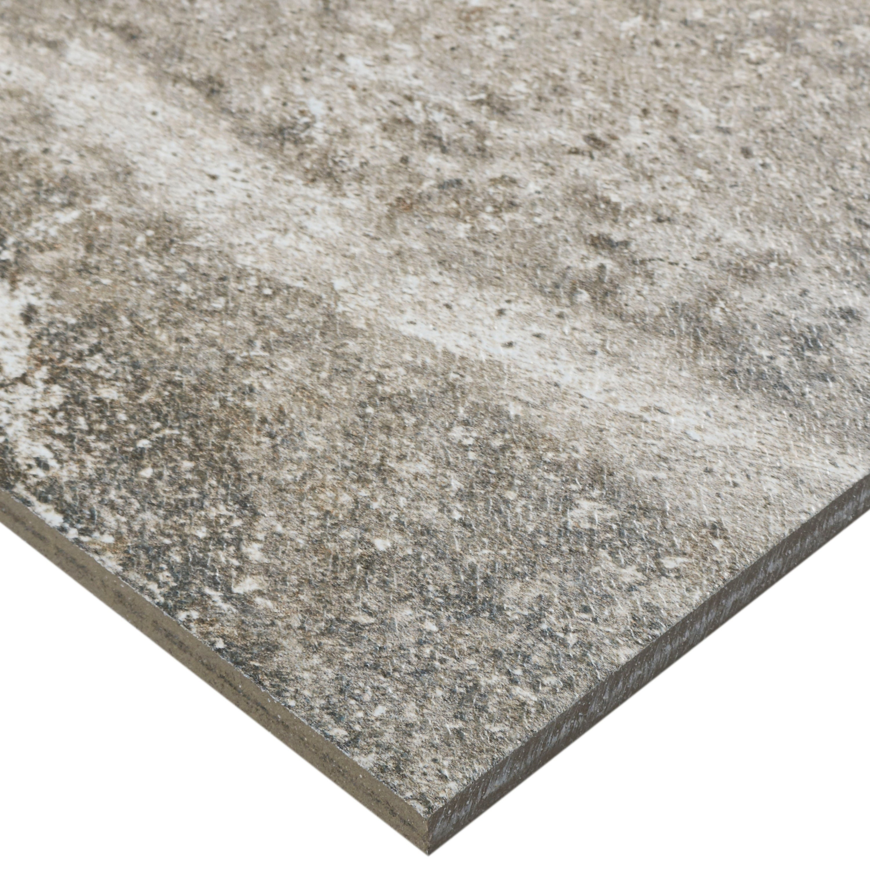 Shop Glazed Porcelain Slate Graphic Xinch Field Tile In Soft - 20x20 slate tile