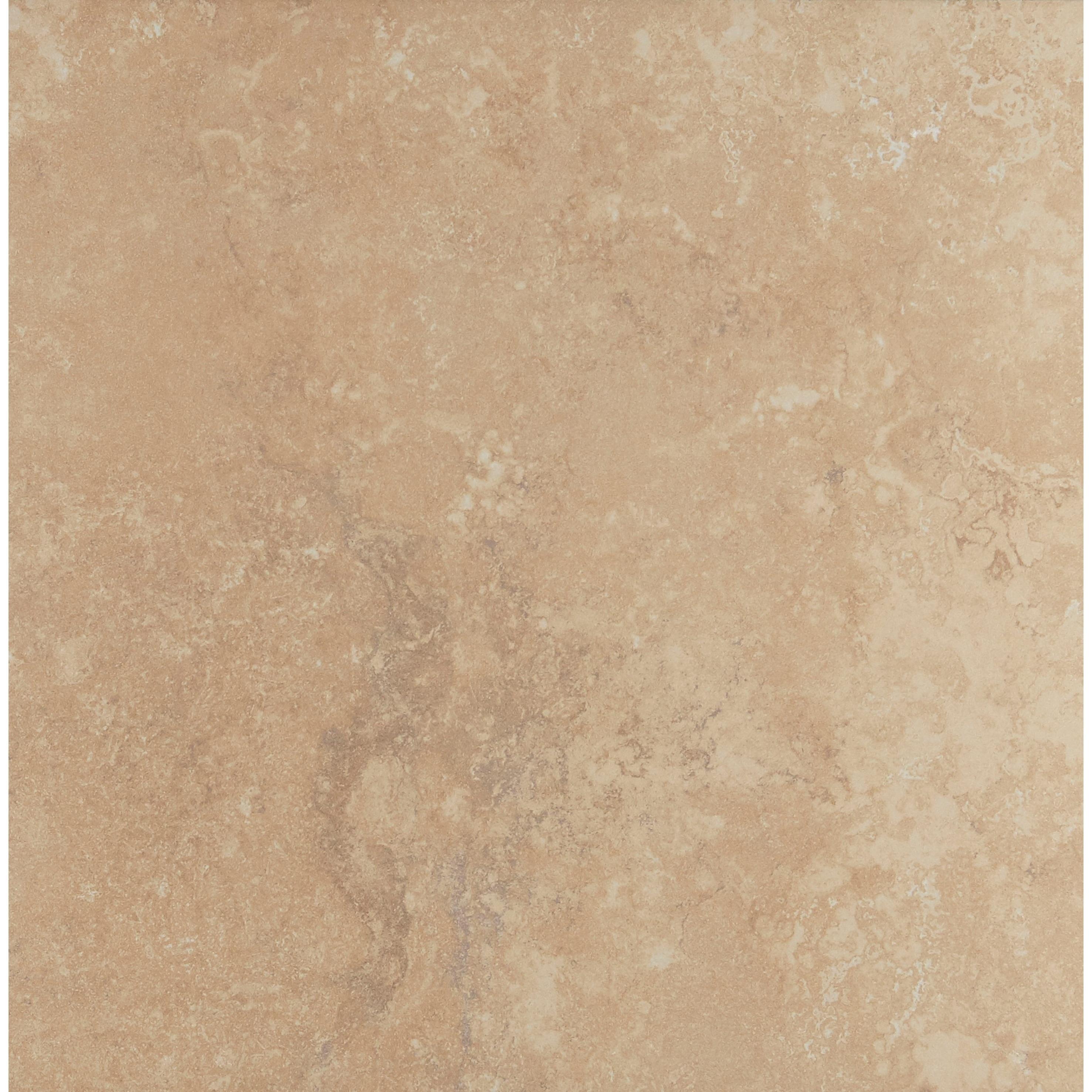 Shop Natural Stone Visual 18x18 Inch Ceramic Floor Tile In Acacia