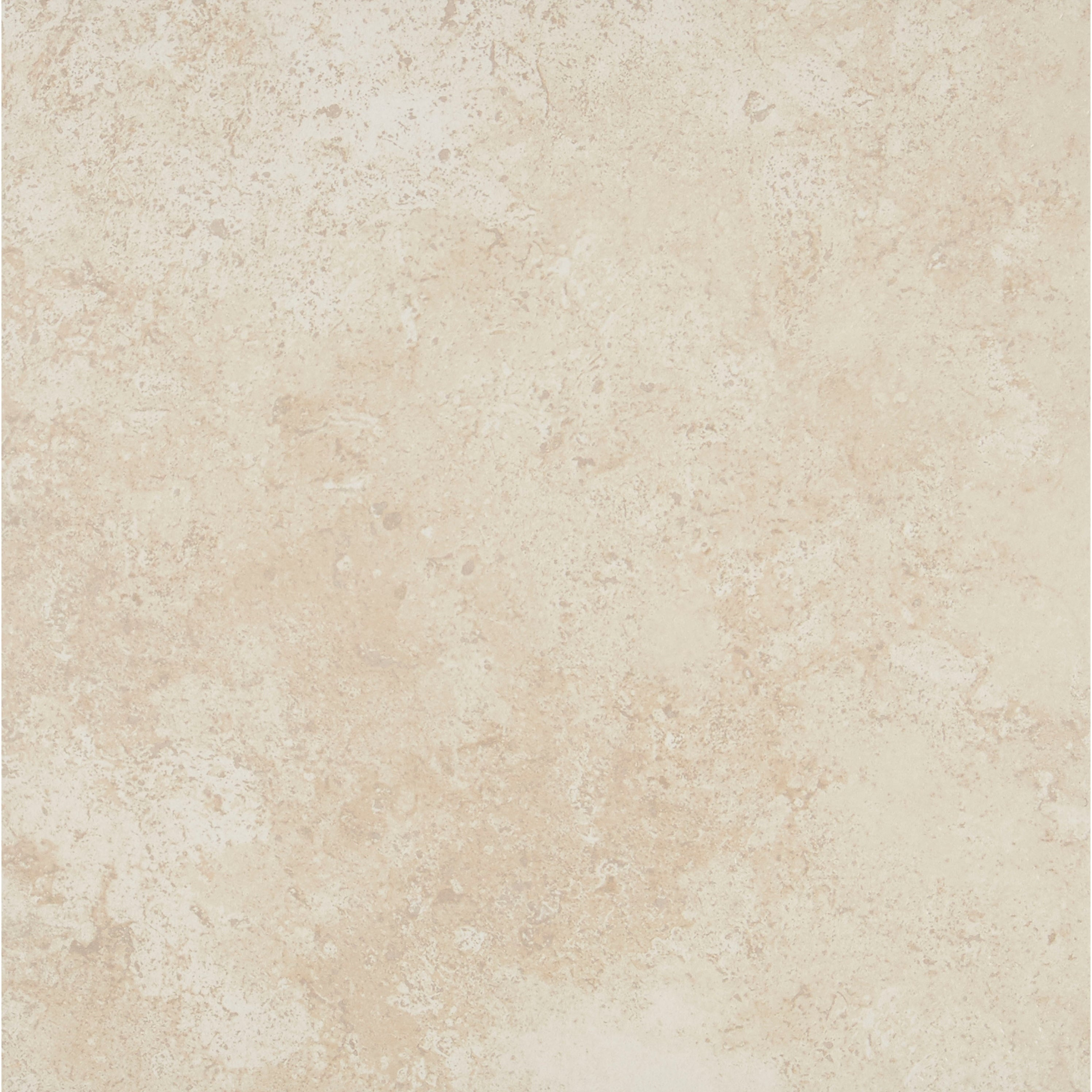 Shop Travertine Replica 18x18 Inch Ceramic Floor Tile In Alabaster