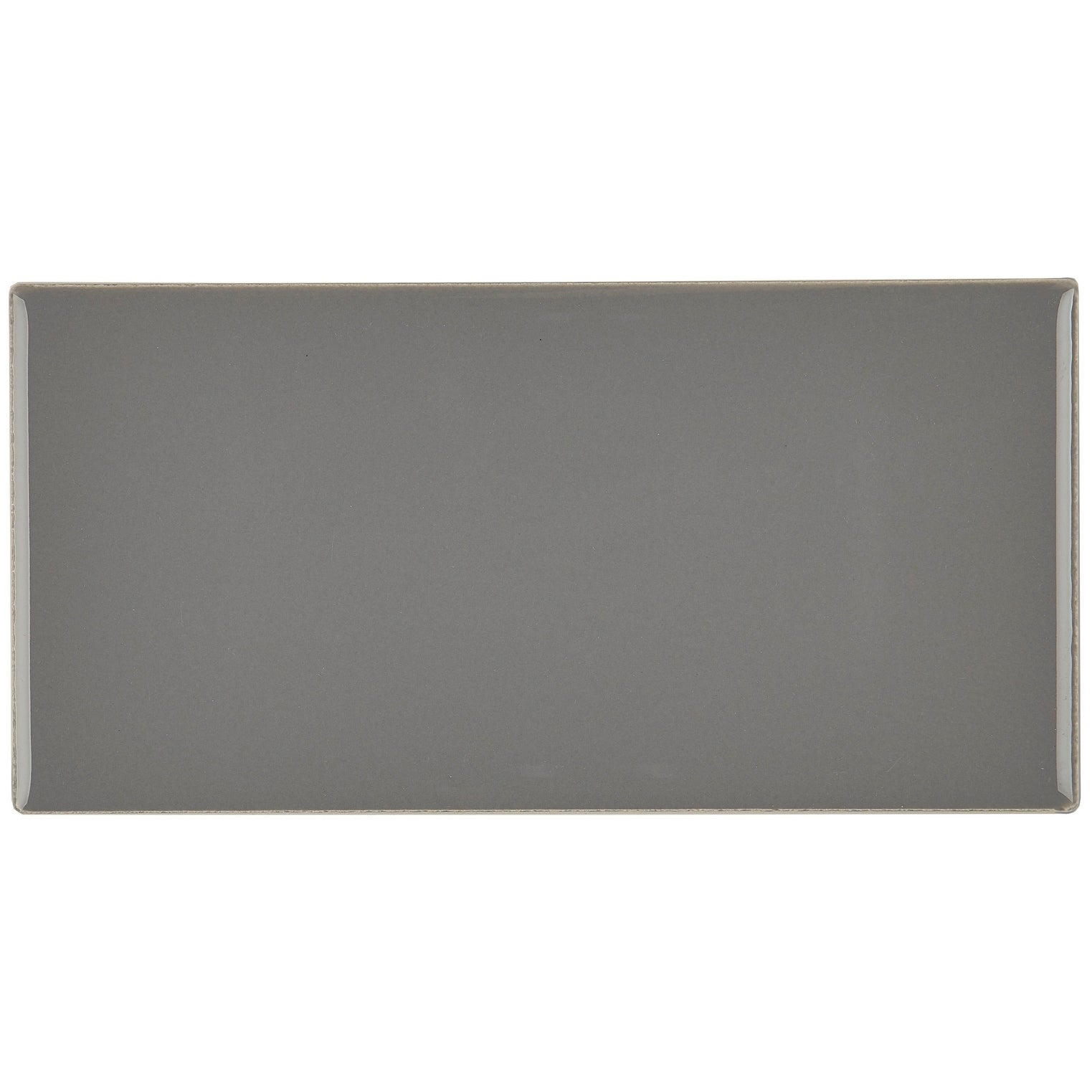 Clic Ceramic 3x6 Inch Wall Tile In Suede Gray On Free Shipping Orders Over 45 20772189