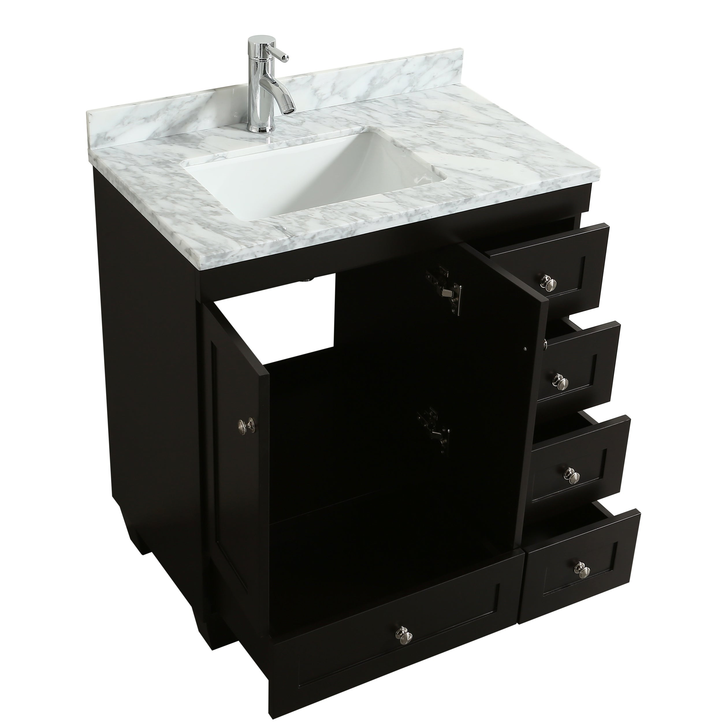 Eviva Hy 30 X 18 Espresso Bathroom Vanity Free Shipping Today 20817210