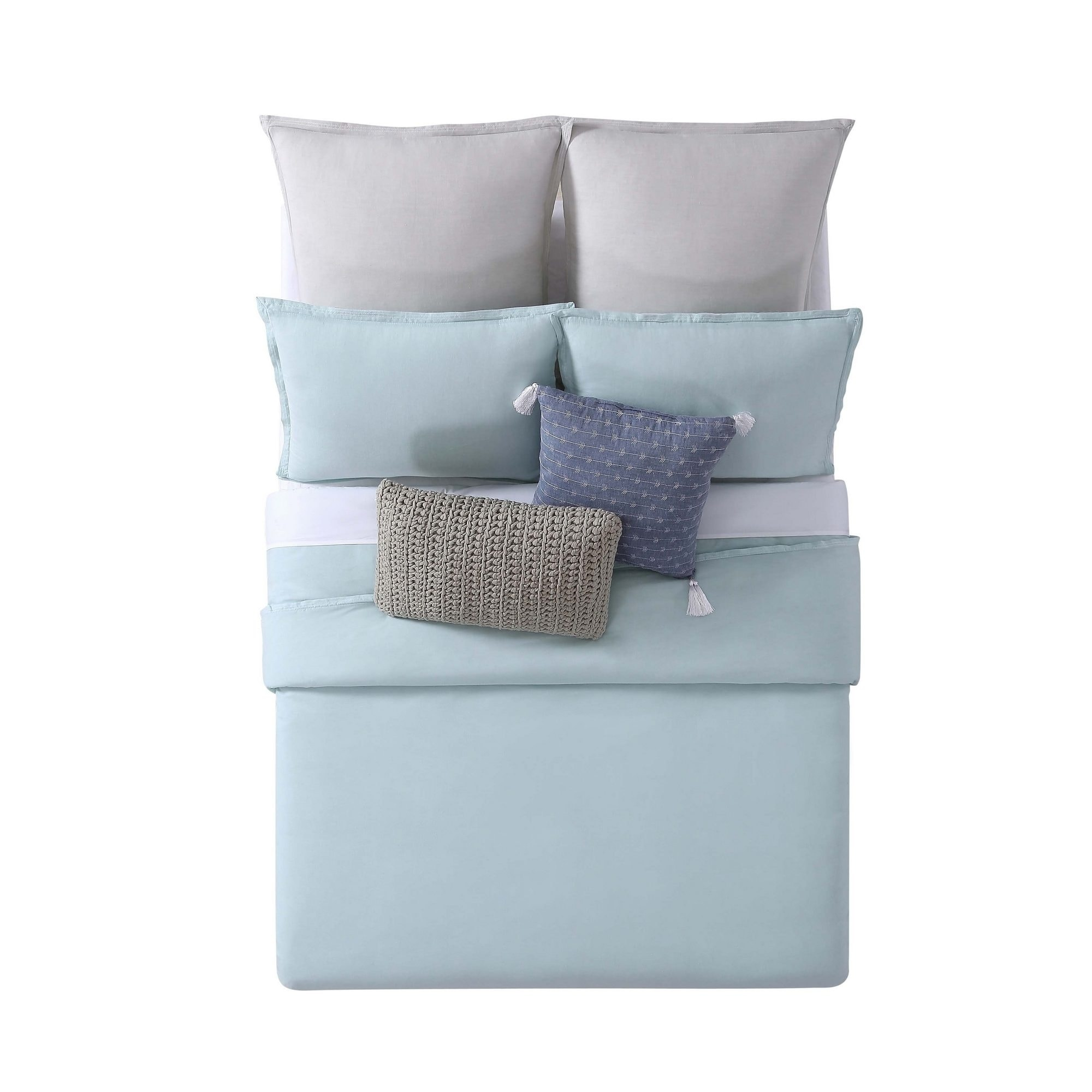 Brooklyn Loom Chambray Loft 3 Piece Comforter Set - Free Shipping ...