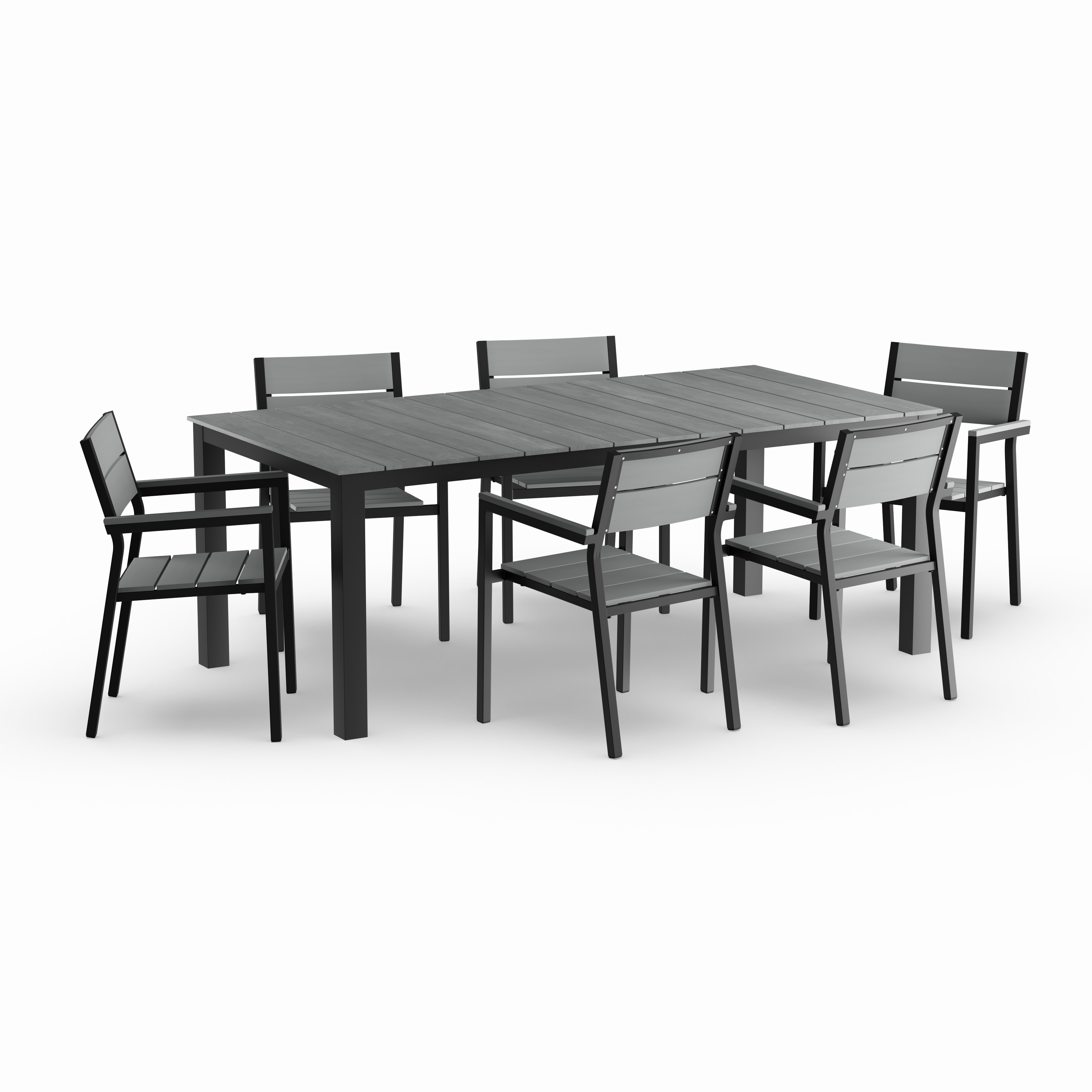 Shop Oliver U0026 James Boggio 7 Piece Outdoor Dining Set   On Sale   Free  Shipping Today   Overstock.com   20831185