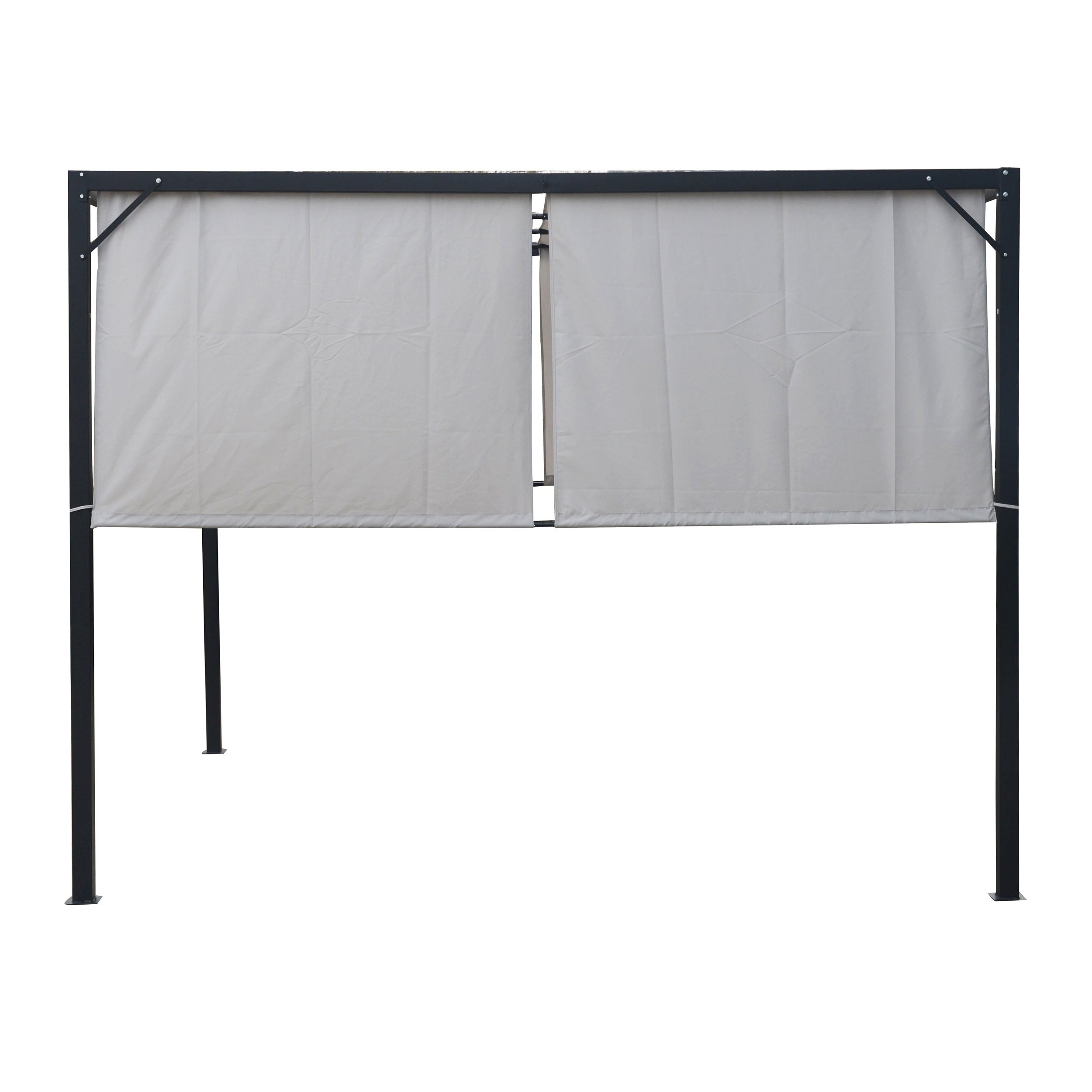 Westray Outdoor Steel 10-foot Gazebo by Christopher Knight Home ...