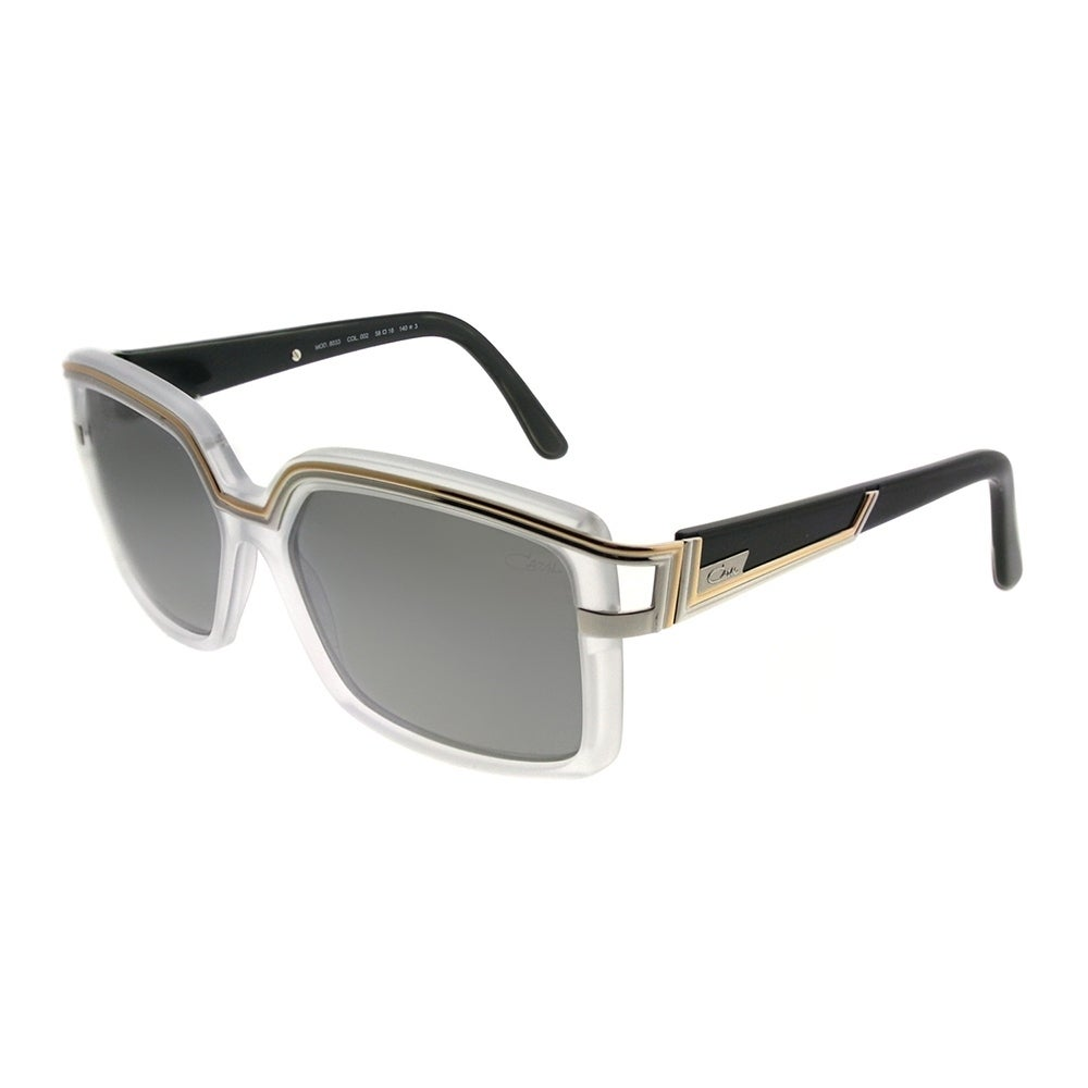 2465aacd72f0 Shop Cazal Fashion Cazal 8033 002SG Unisex Crystal Gold Frame Silver Mirror  Lens Sunglasses - Free Shipping Today - Overstock - 20836028