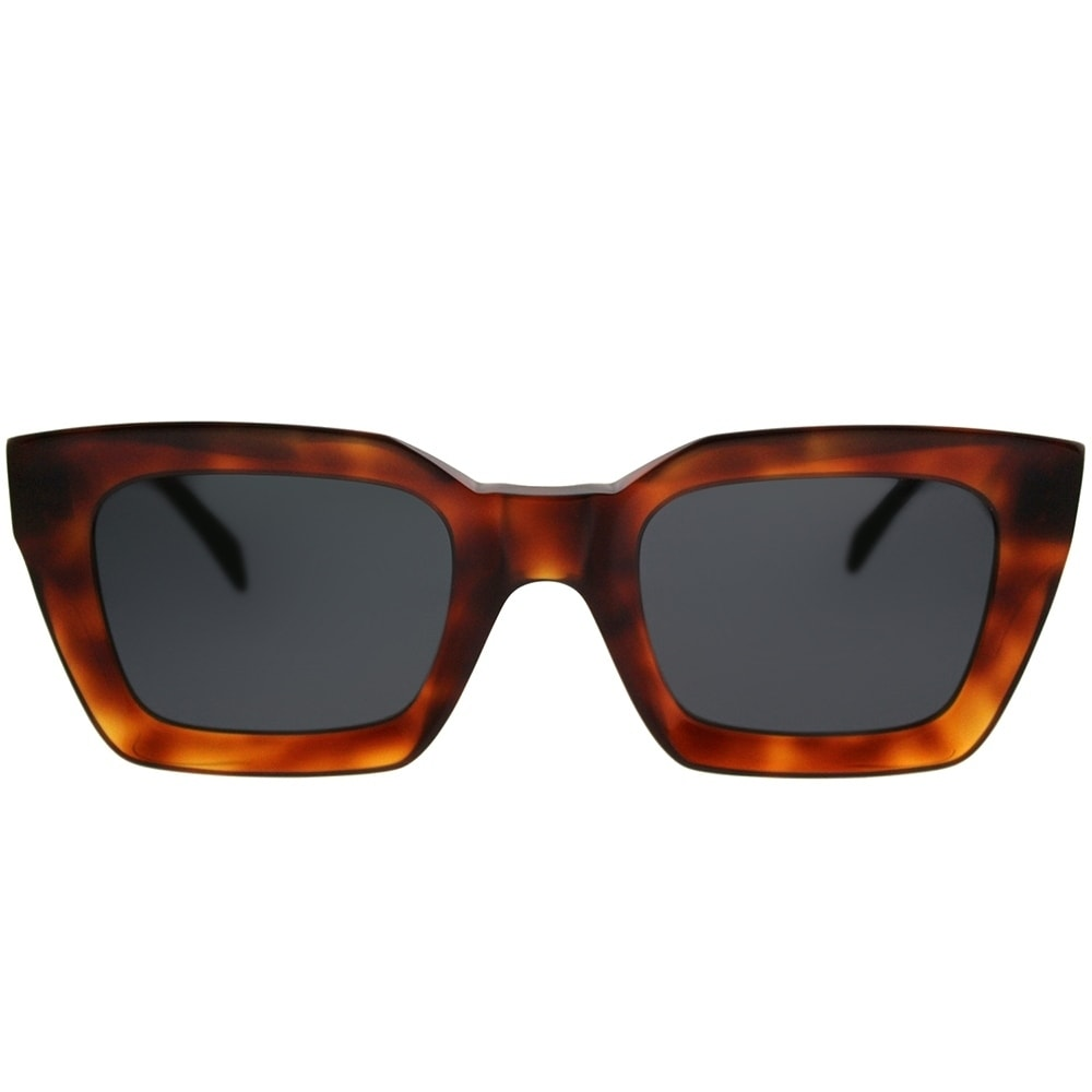 13ffdabb438c Shop Celine Square CL 41450 Kate 086 IR Women Dark Havana Frame Grey Lens  Sunglasses - Free Shipping Today - Overstock - 20836089