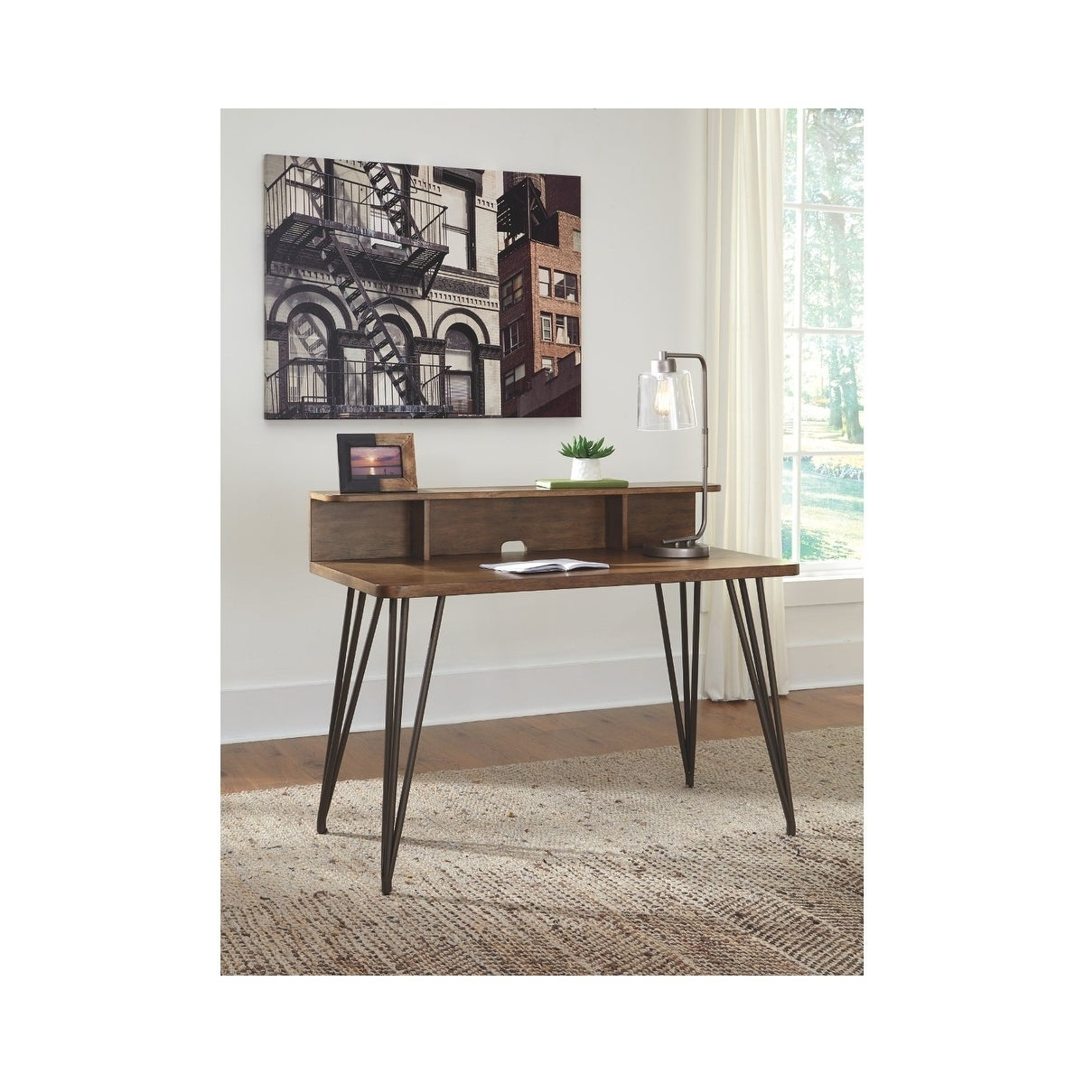 Shop Signature Design by Ashley Fullinfurst Medium Brown Home Office ...
