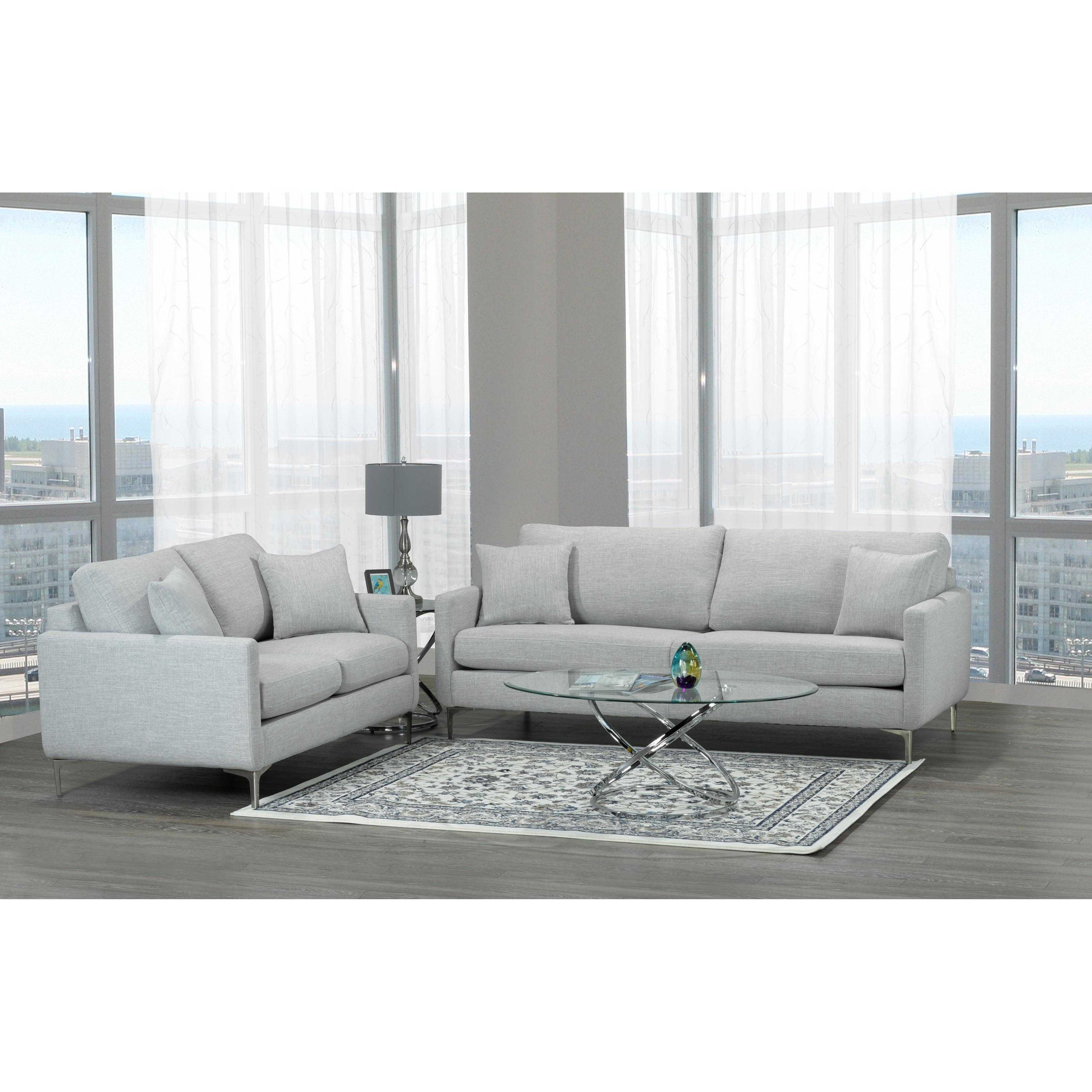 Künstlerisch Sofa Rose Beste Wahl Shop Mid Century Modern Grey Fabric And