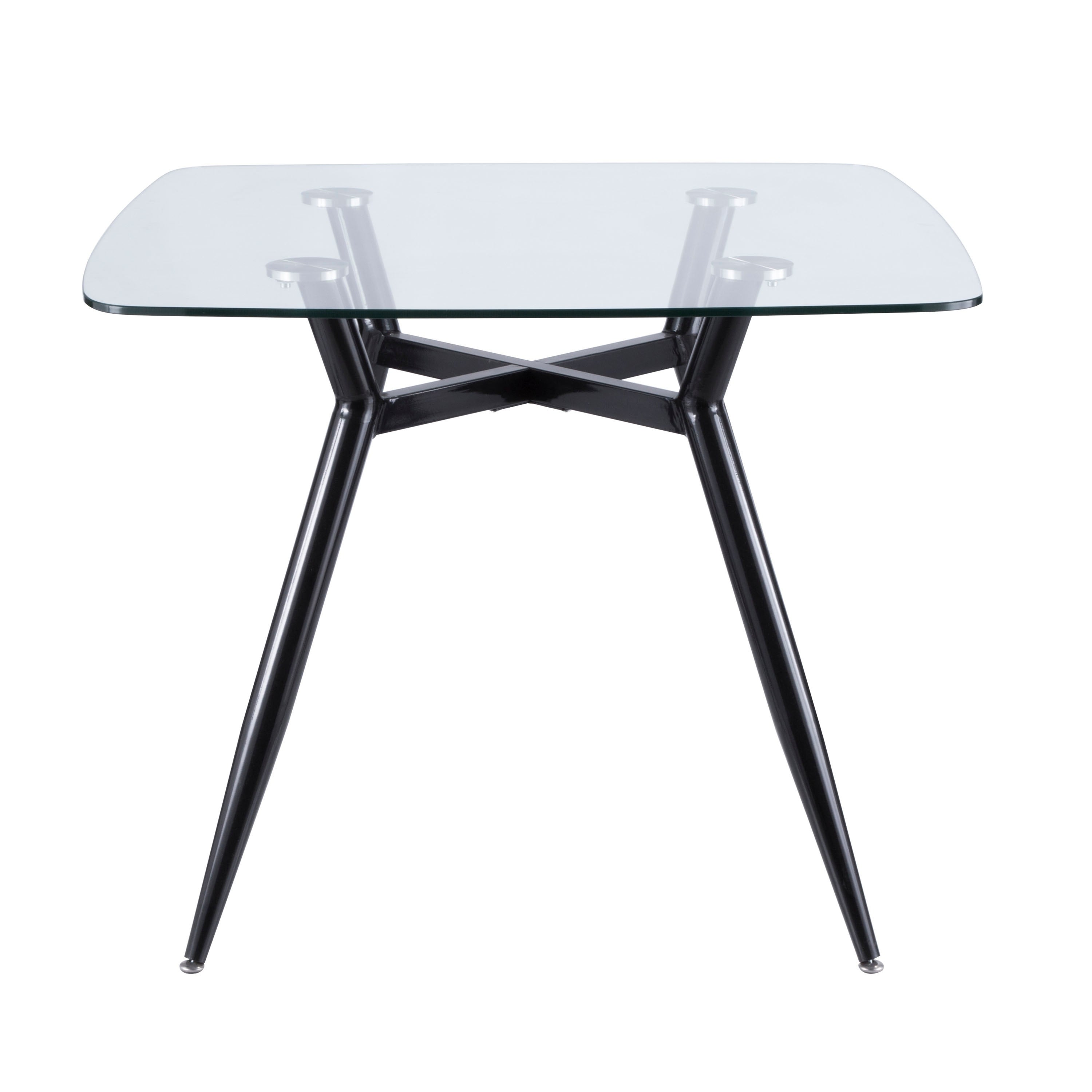 Shop Clara Mid Century Modern Square Dining Table On Sale Free