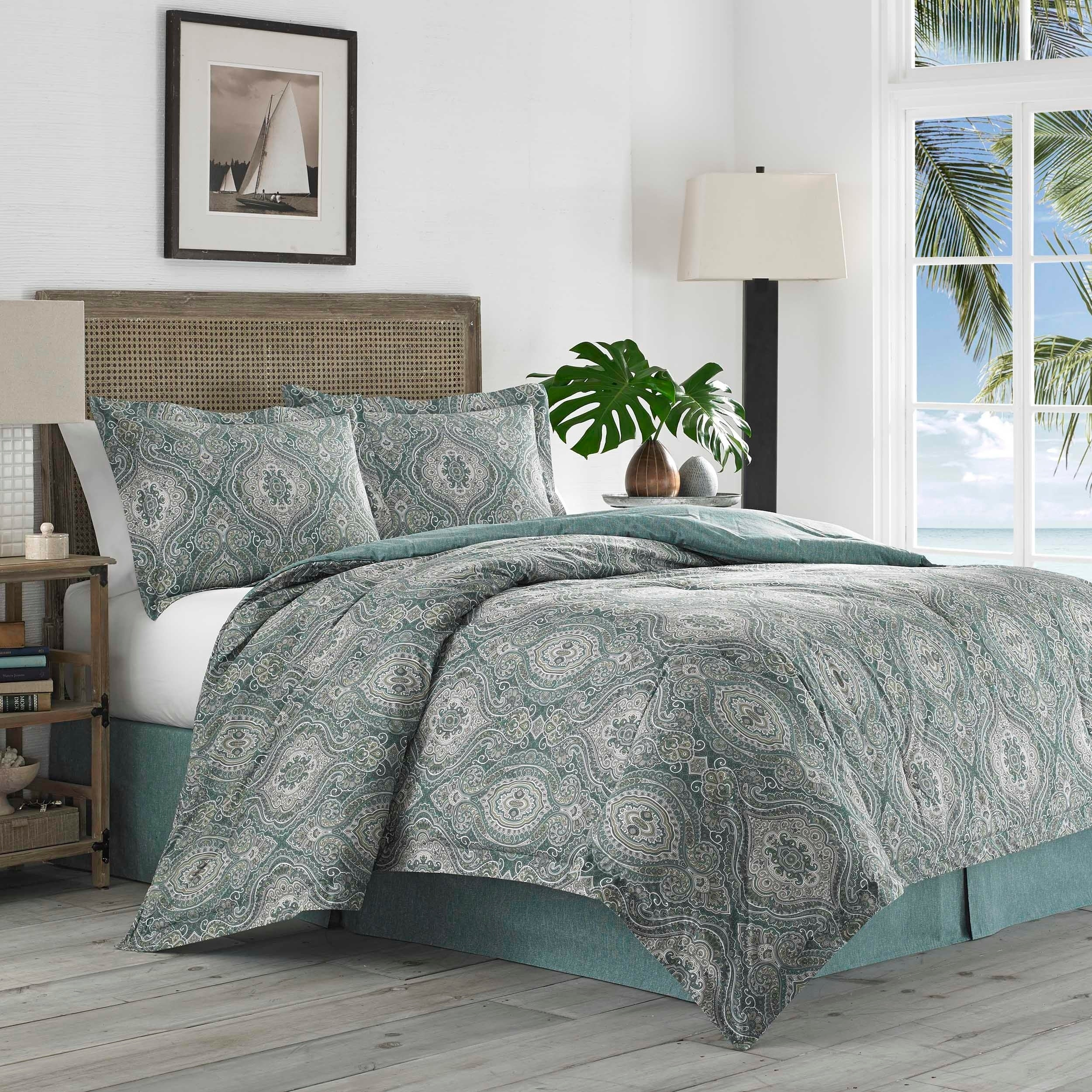 tommy lamps set style bahama furniture quilts size tropical bedding white sets king bedroom quilt full comforter of