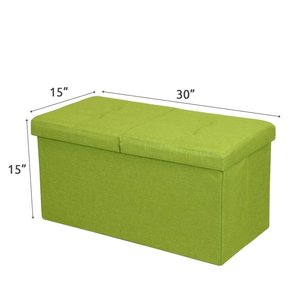 Ordinaire Shop Storage Ottoman Bench 30 Inch Smart Lift Top, Lime Green   Crown  Comfort   On Sale   Free Shipping On Orders Over $45   Overstock.com    20859131