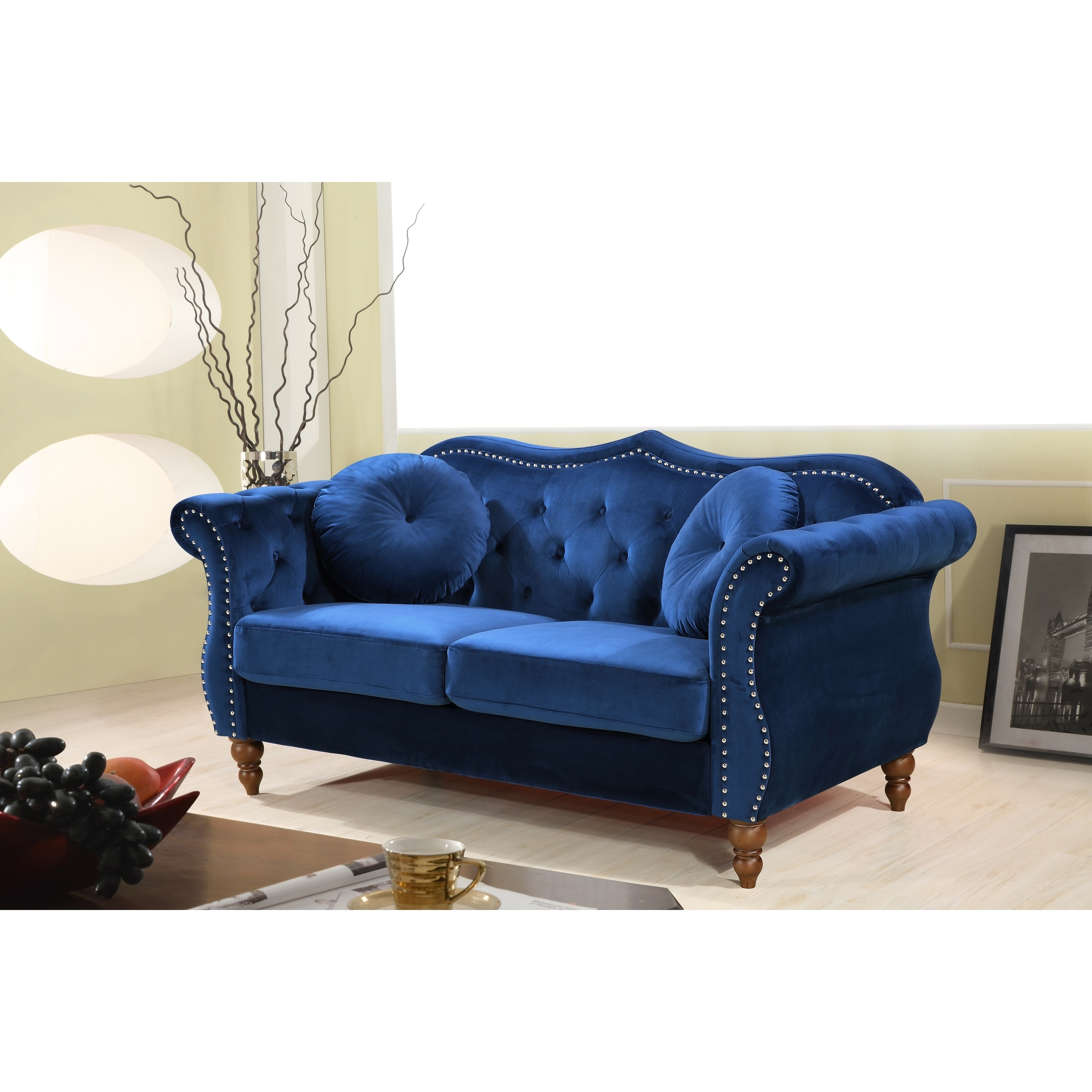 x bridgeford wide cm pin sofa with traditional scatter back loveseat plum deep cushions