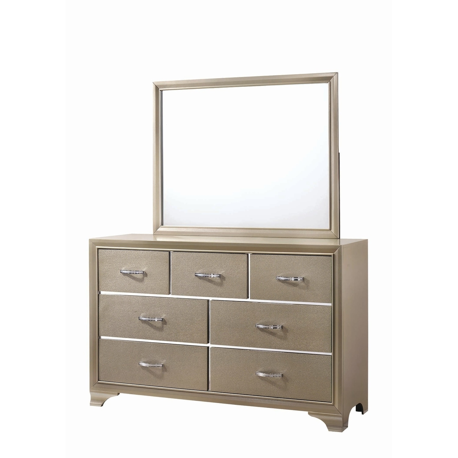 Shop silver orchid transitional champagne dresser on sale free shipping today overstock com 23600739