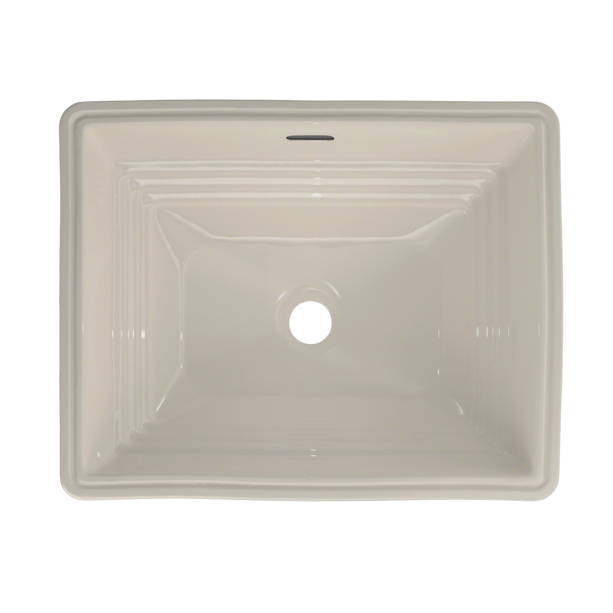 TOTO® Promenade® Rectangular Undermount Bathroom Sink, Sedona Beige ...