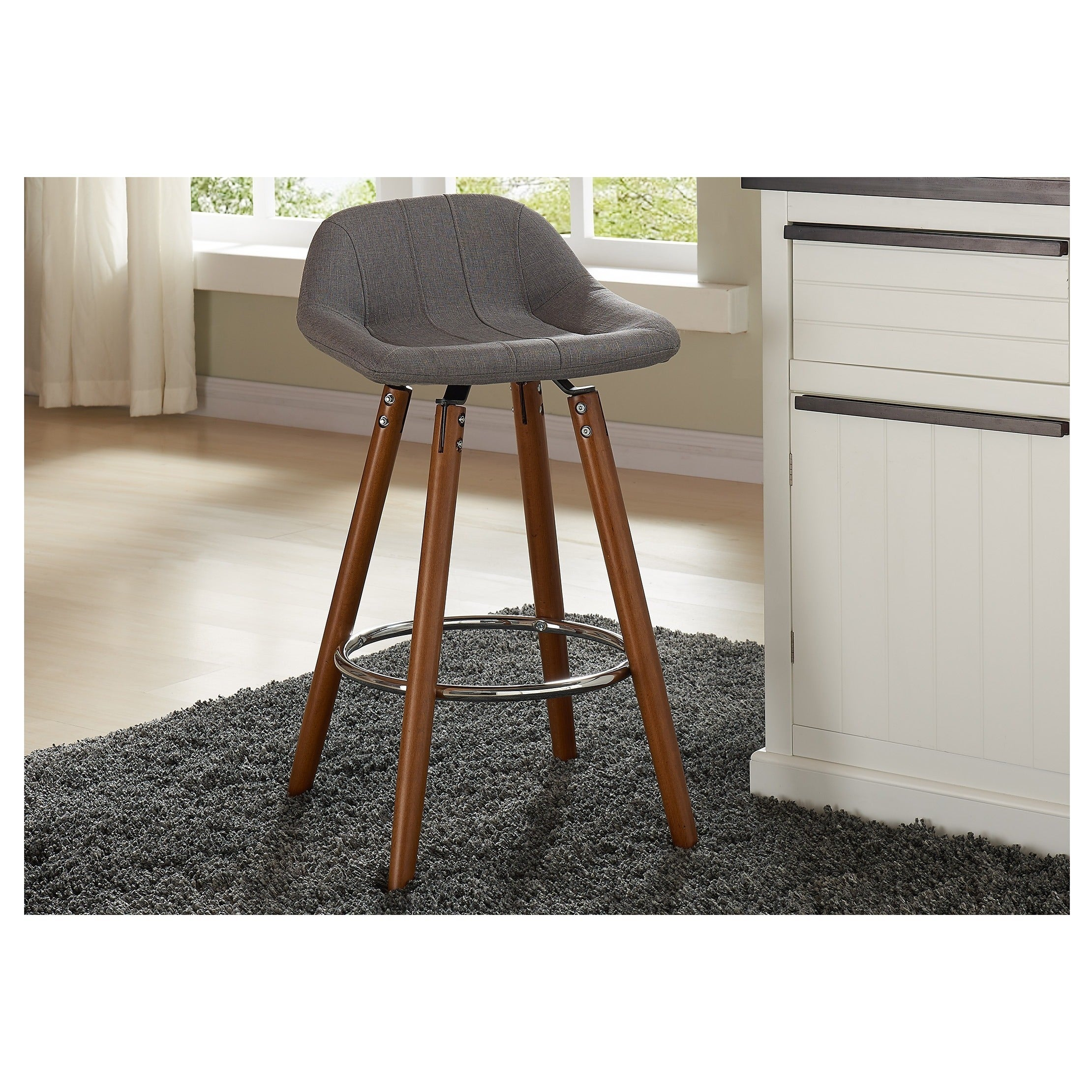 Carson Carrington Hauganes 26 Inch Counter Stool Set Of 2