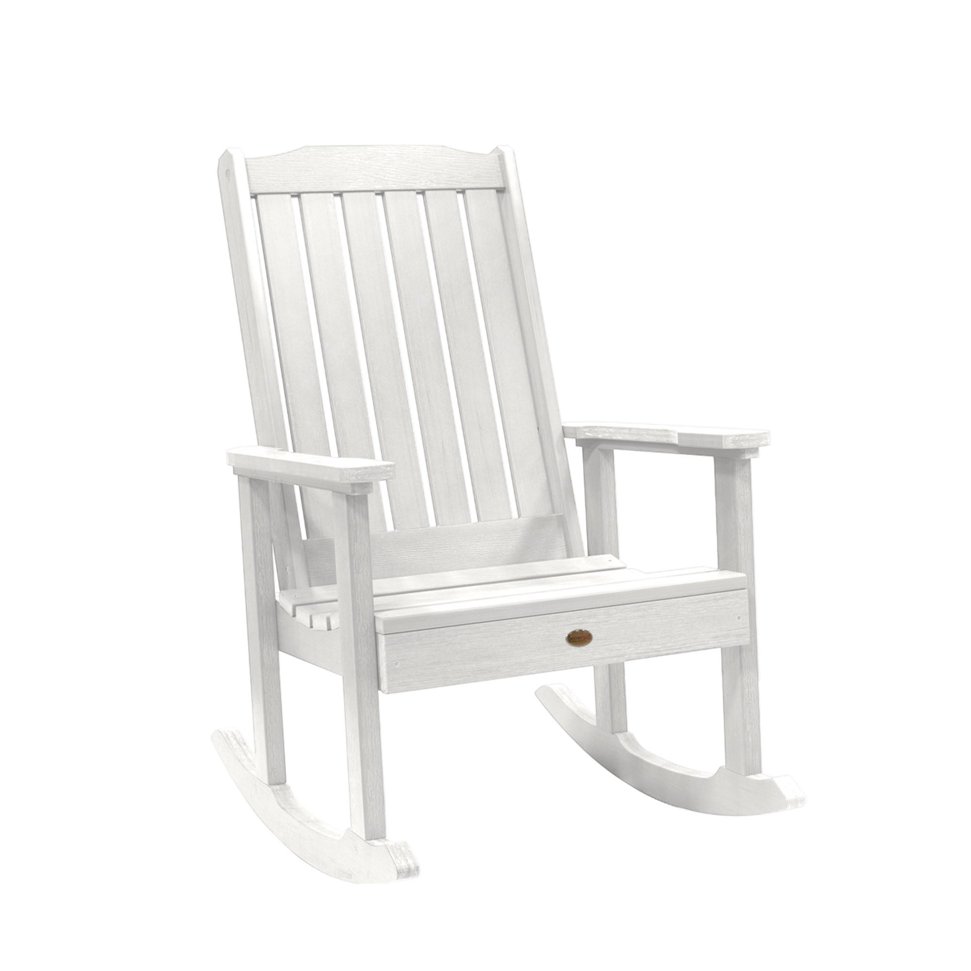 Shop Havenside Home Mandalay Eco Friendly Synthetic Wood Rocking Chair   On  Sale   Free Shipping Today   Overstock   20882500
