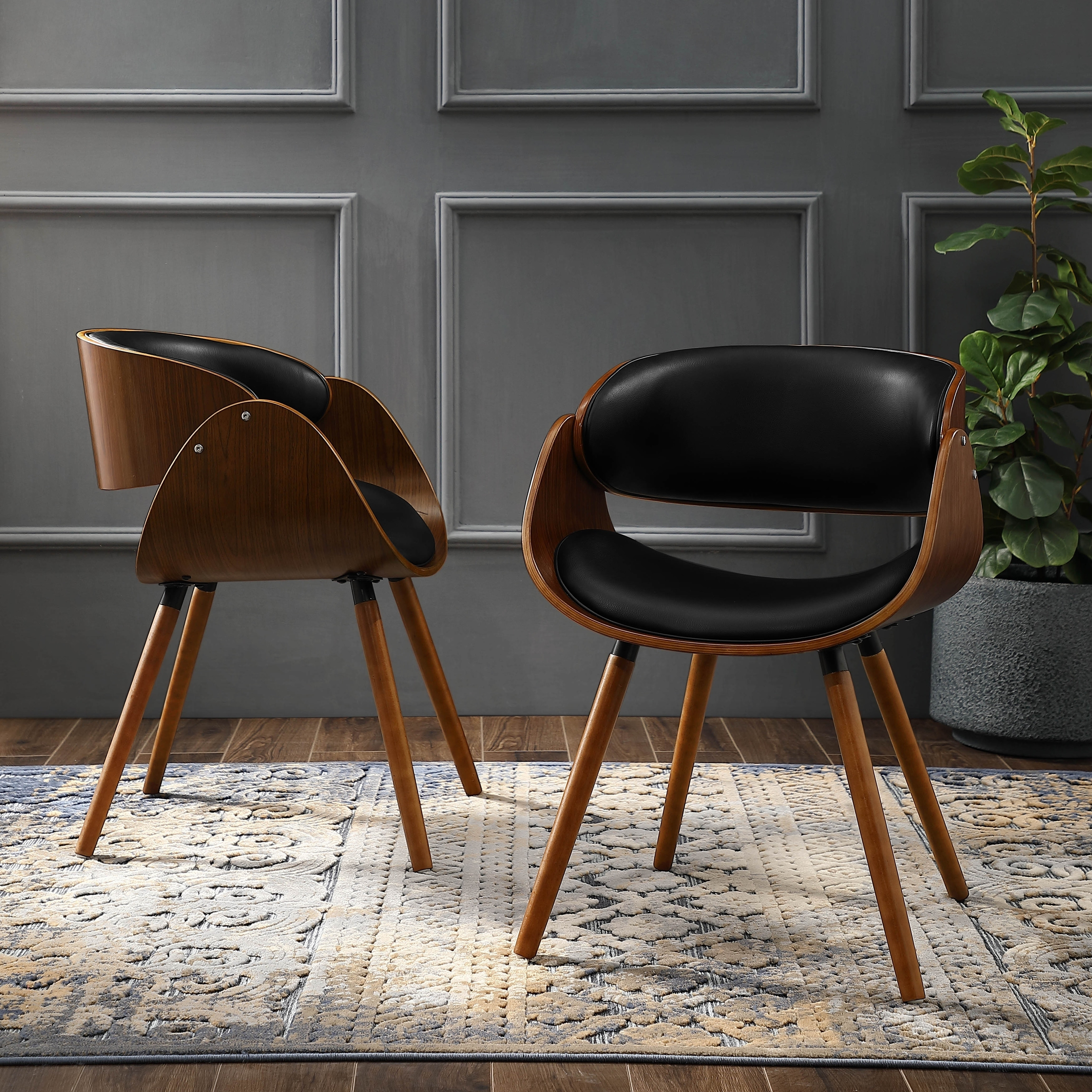 Modern Unique Accent Chairs.Corvus Mid Century Modern Accent Chair