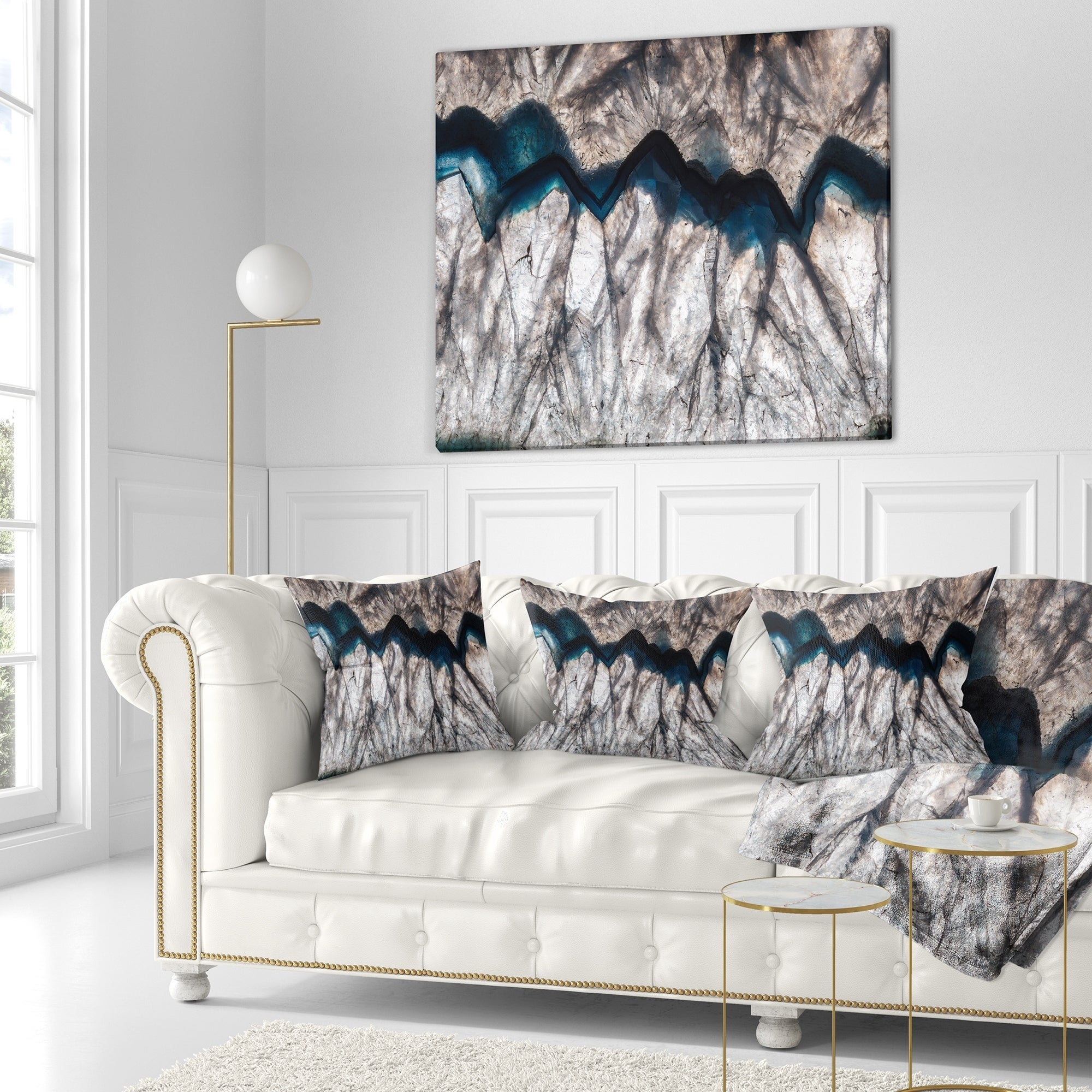 Shop designart mineral macro abstract throw pillow on sale free shipping today overstock com 20890754