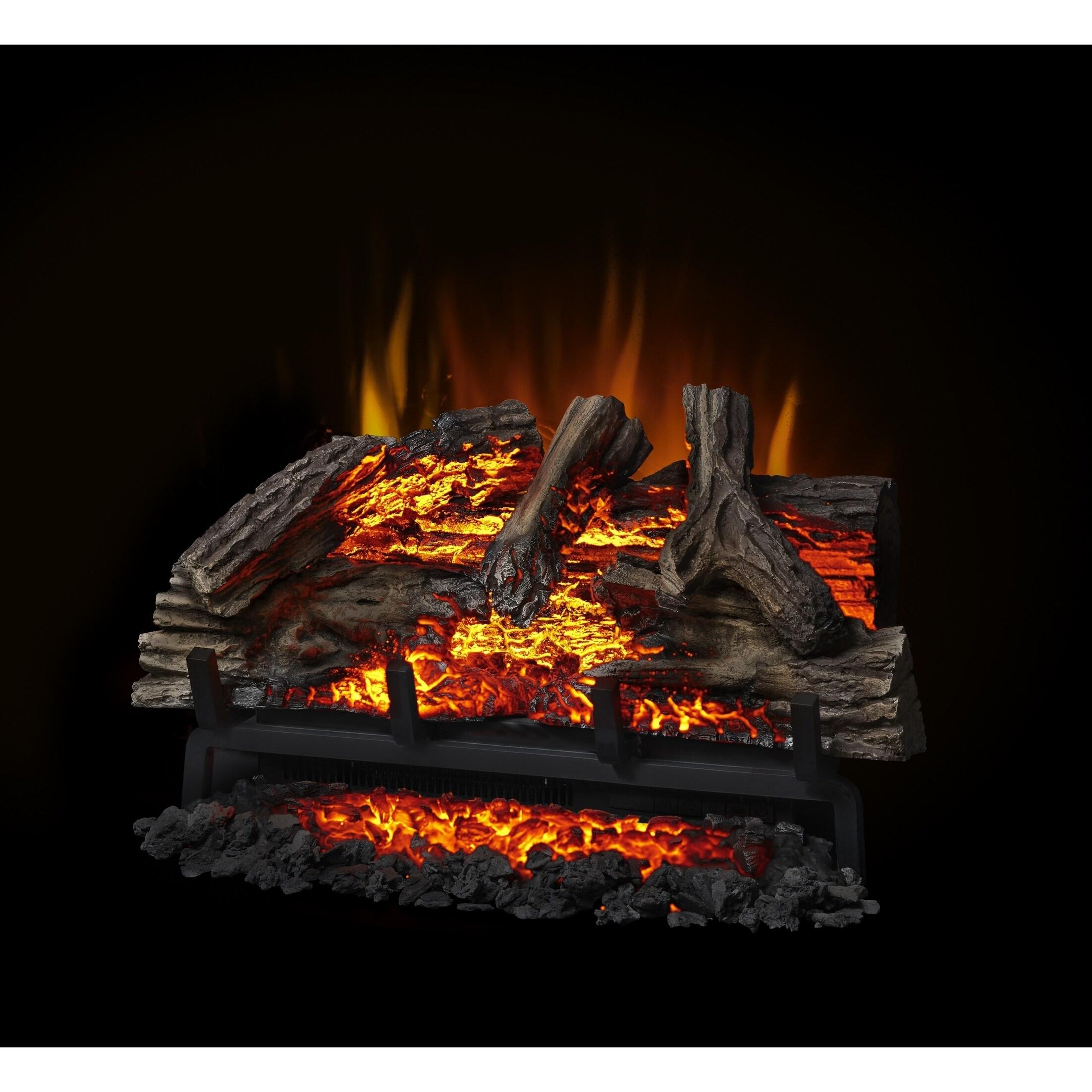 Enjoyable Napoleon Woodland 27 Inch Electric Log Set Fireplace Insert With Remote Control Interior Design Ideas Gentotryabchikinfo