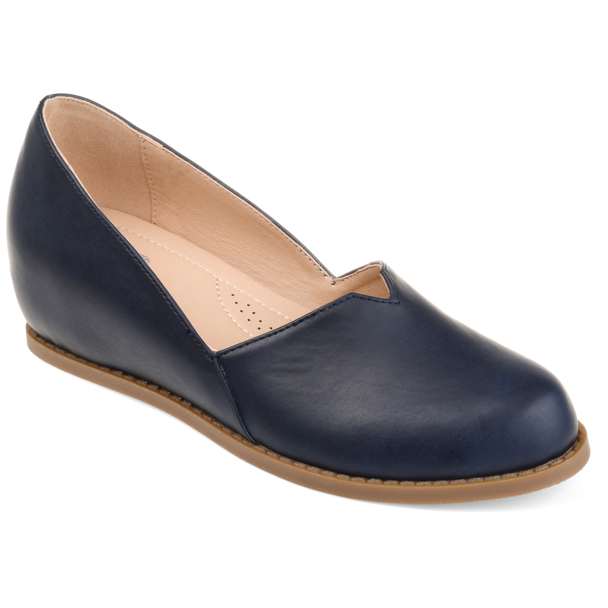 8790703df1b Shop Journee Collection Comfort Val Women s Wedge Loafers - Free Shipping  Today - Overstock - 20907974