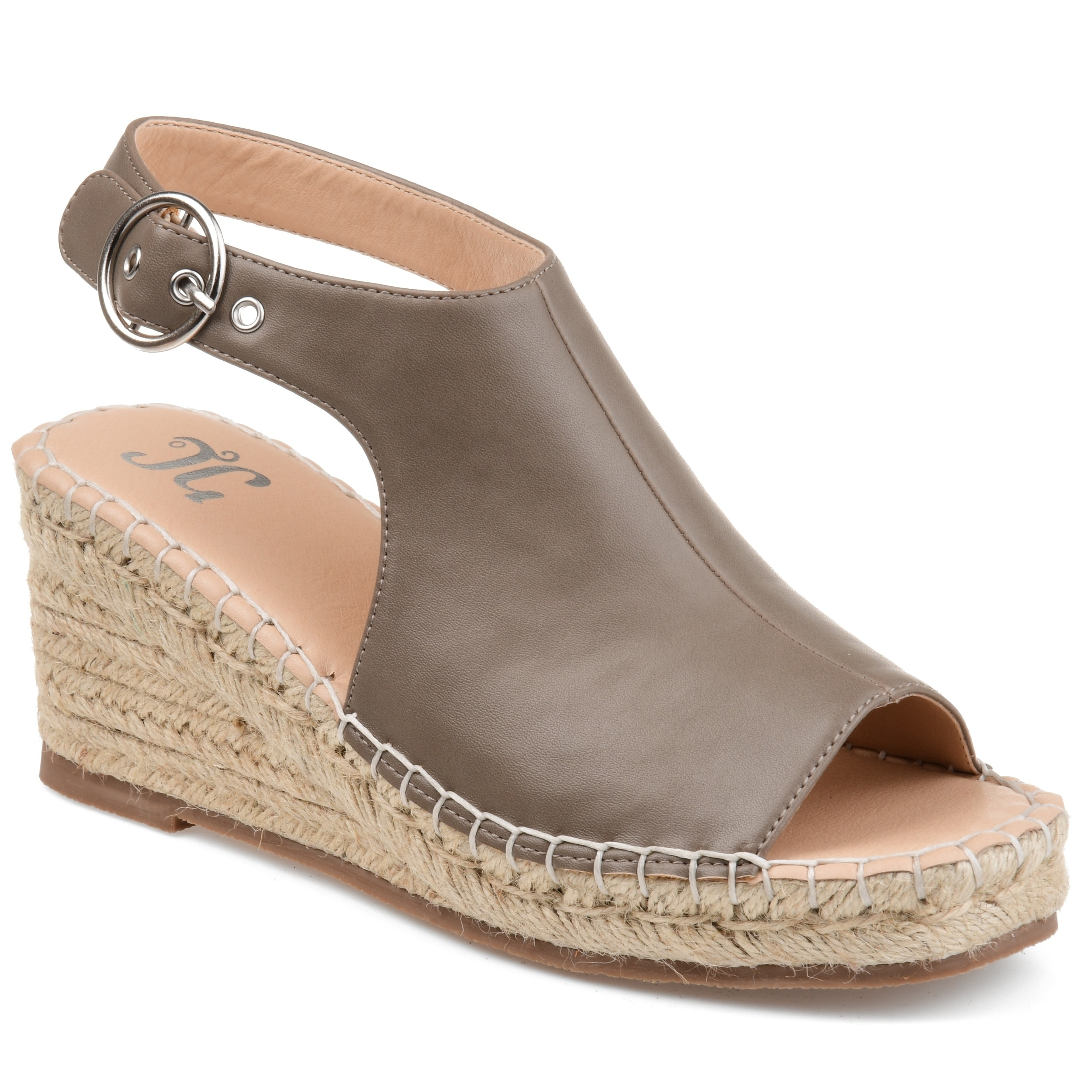 ec655e9abc8b Shop Journee Collection Crew Women s Wedge Sandals - Free Shipping Today -  Overstock - 20908163