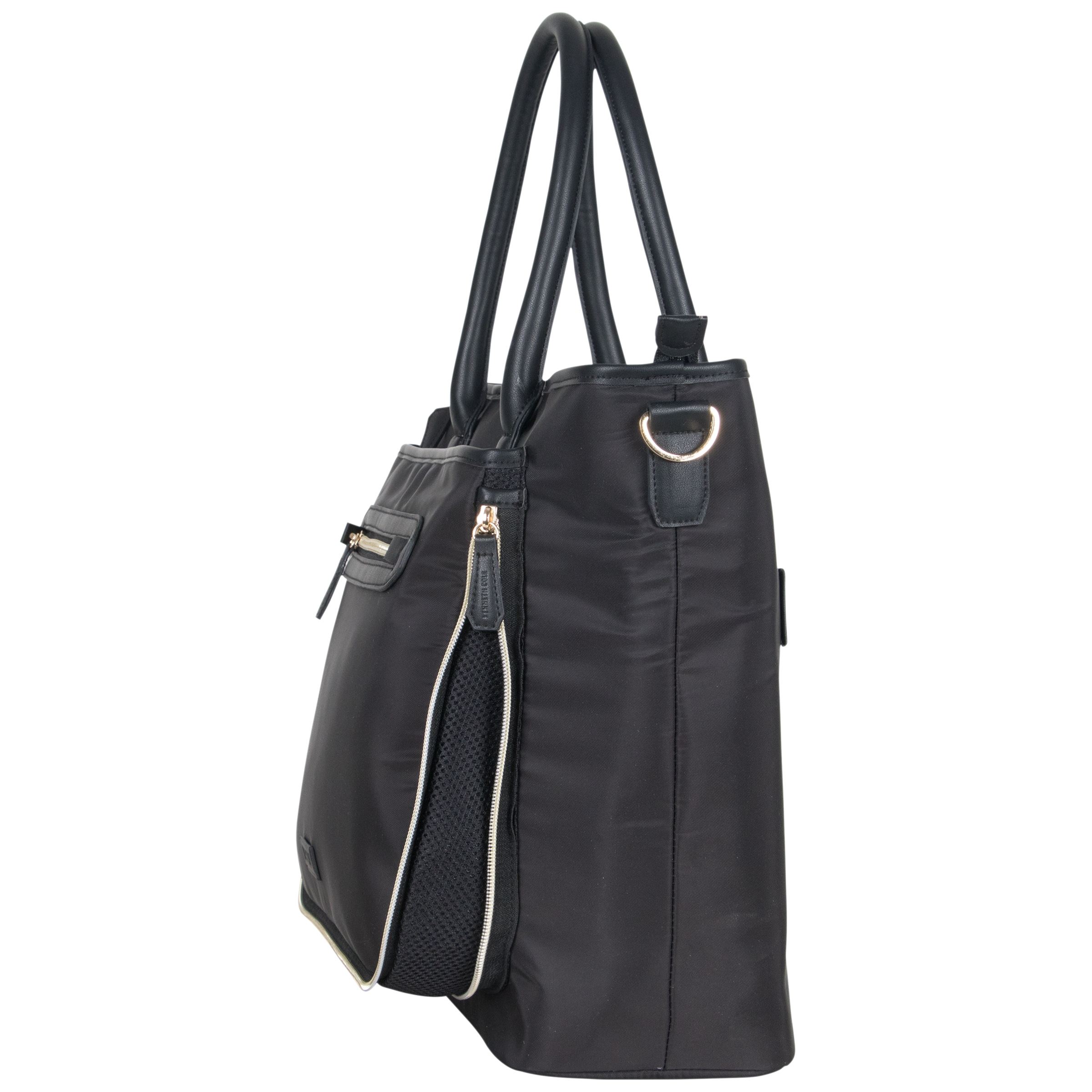 8494fd0bc594 Shop Kenneth Cole Reaction Silky Polyester Anti-theft 15-inch Laptop Travel Business  Tote Bag - Free Shipping Today - Overstock - 20908312