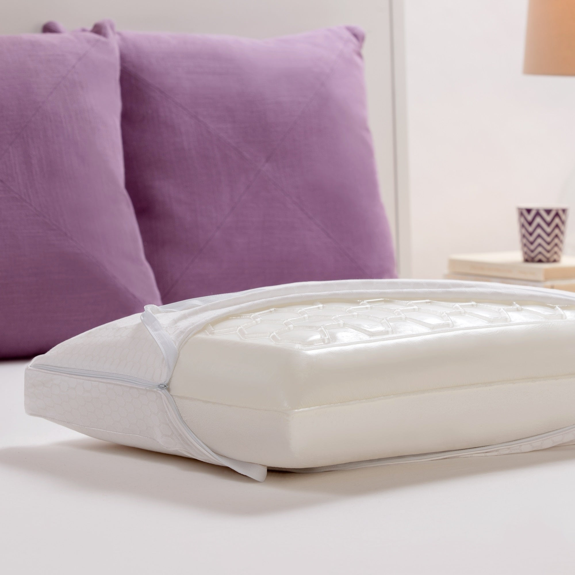 from truenergy co y gardner previous white beautyrest pillow plush furniture foam memory comforpedic pcok