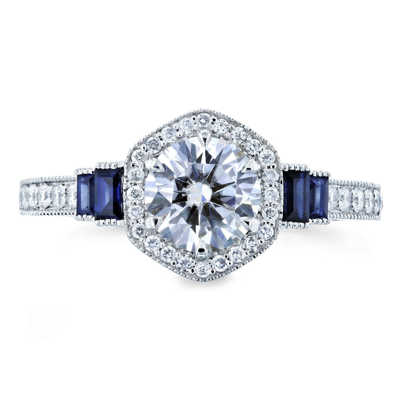 white wedding eternity set dsc moissanite band bridal ring and wave engagement sapphire products