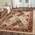 "Safavieh Lyndhurst Traditional Oriental Multicolor/ Red Runner (2'3"" x 8')"