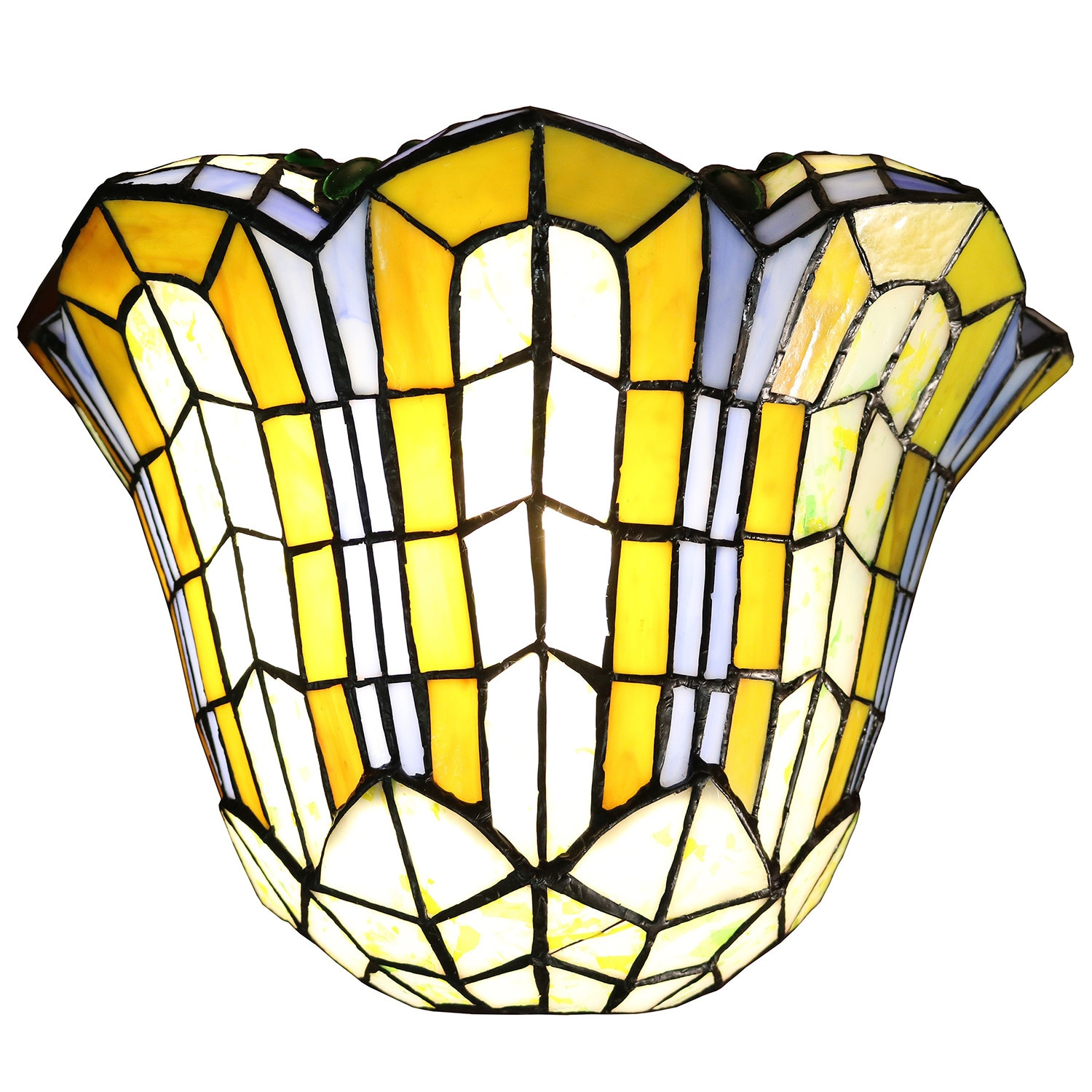 Shop Tiffany-style Wall Sconce - Free Shipping Today - Overstock.com ...