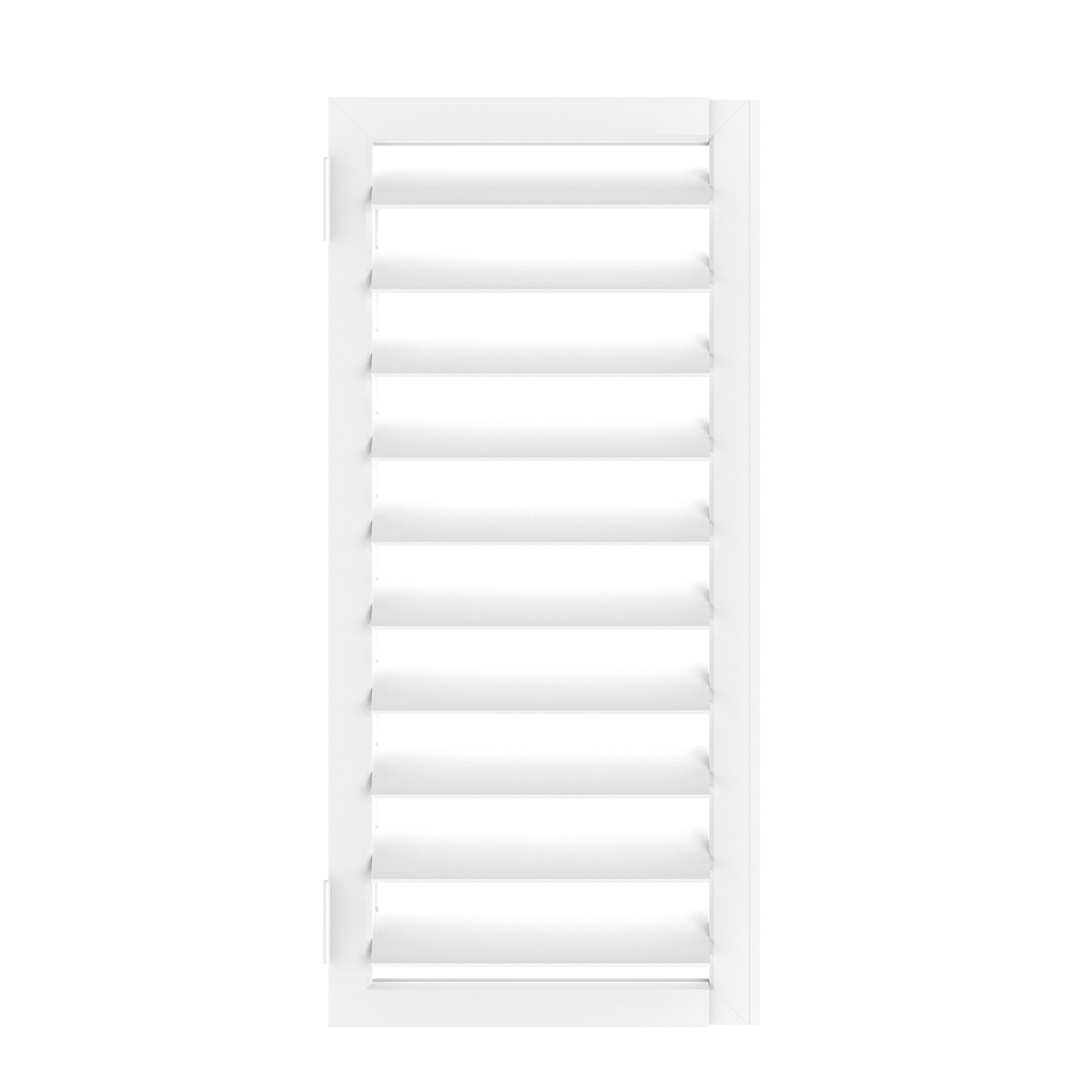 Self-adjusting plastic windows 23
