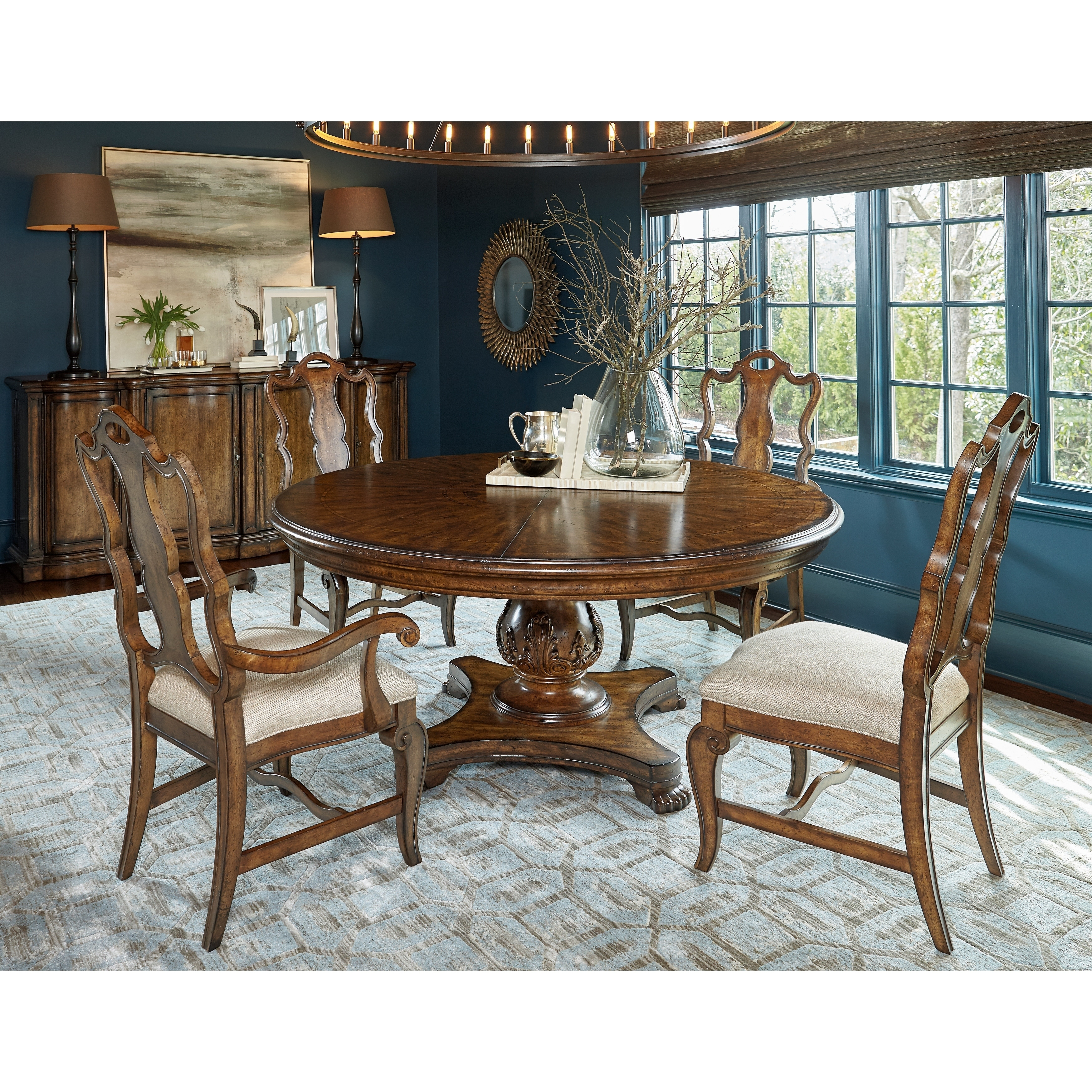 A R T Furniture Continental 66 Round Dining Table Free Shipping Today 20943415