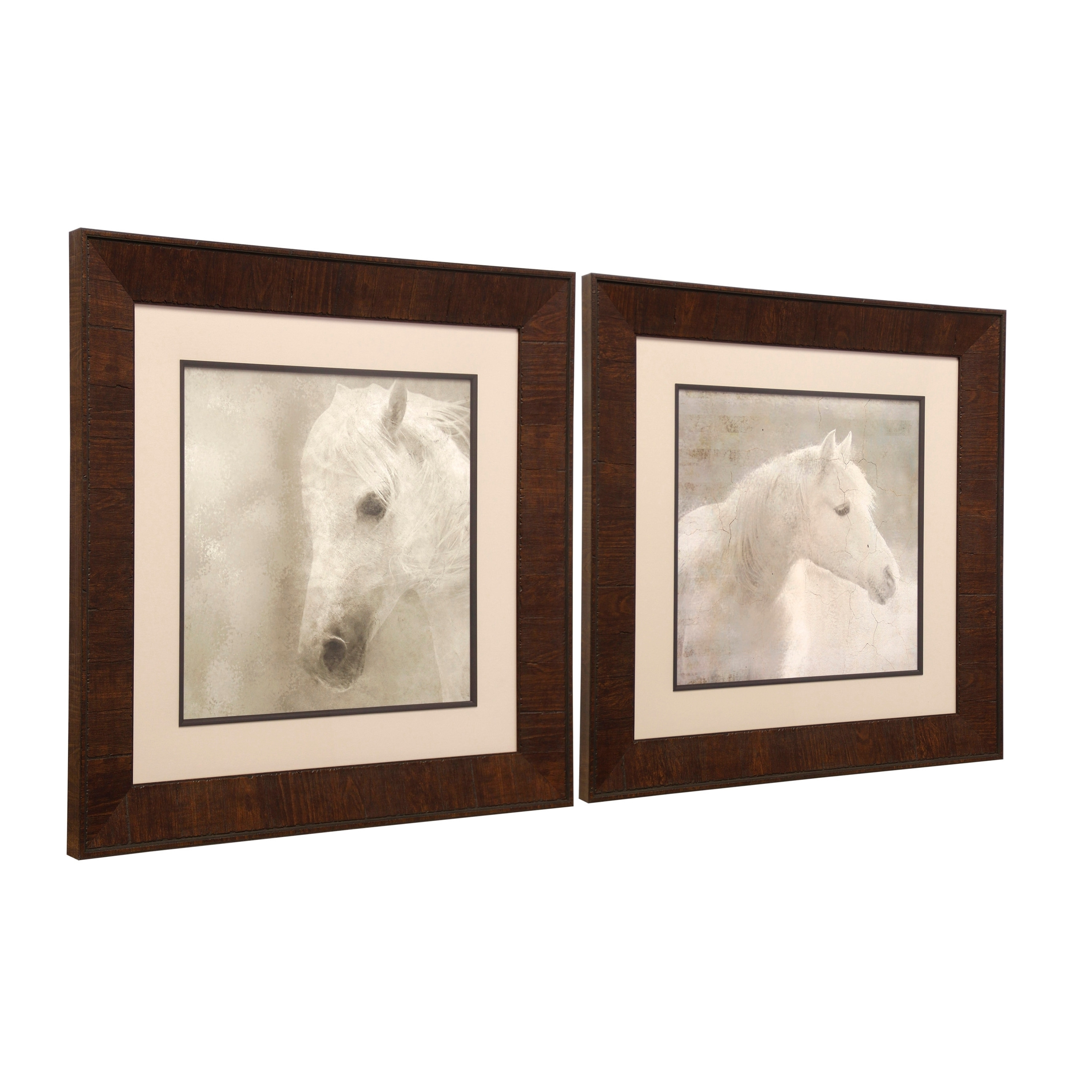 Shop Horses Framed Prints Under Glass Wall Art - Free Shipping Today ...