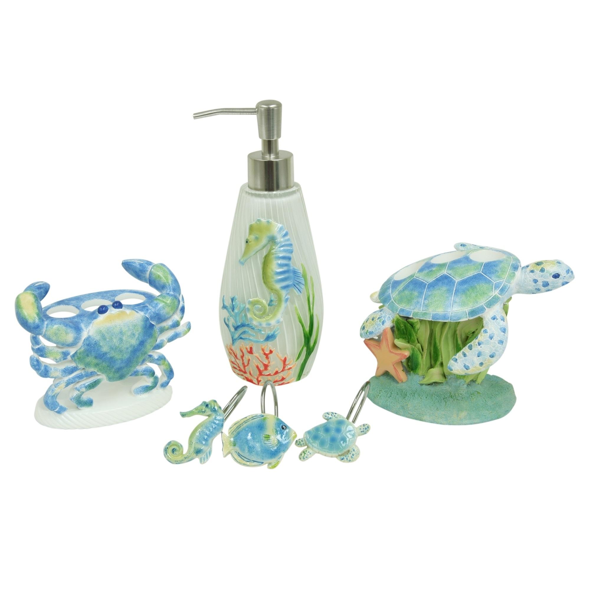 Shop Sea Life Serenade Bath accessories by Bacova - Free Shipping On ...
